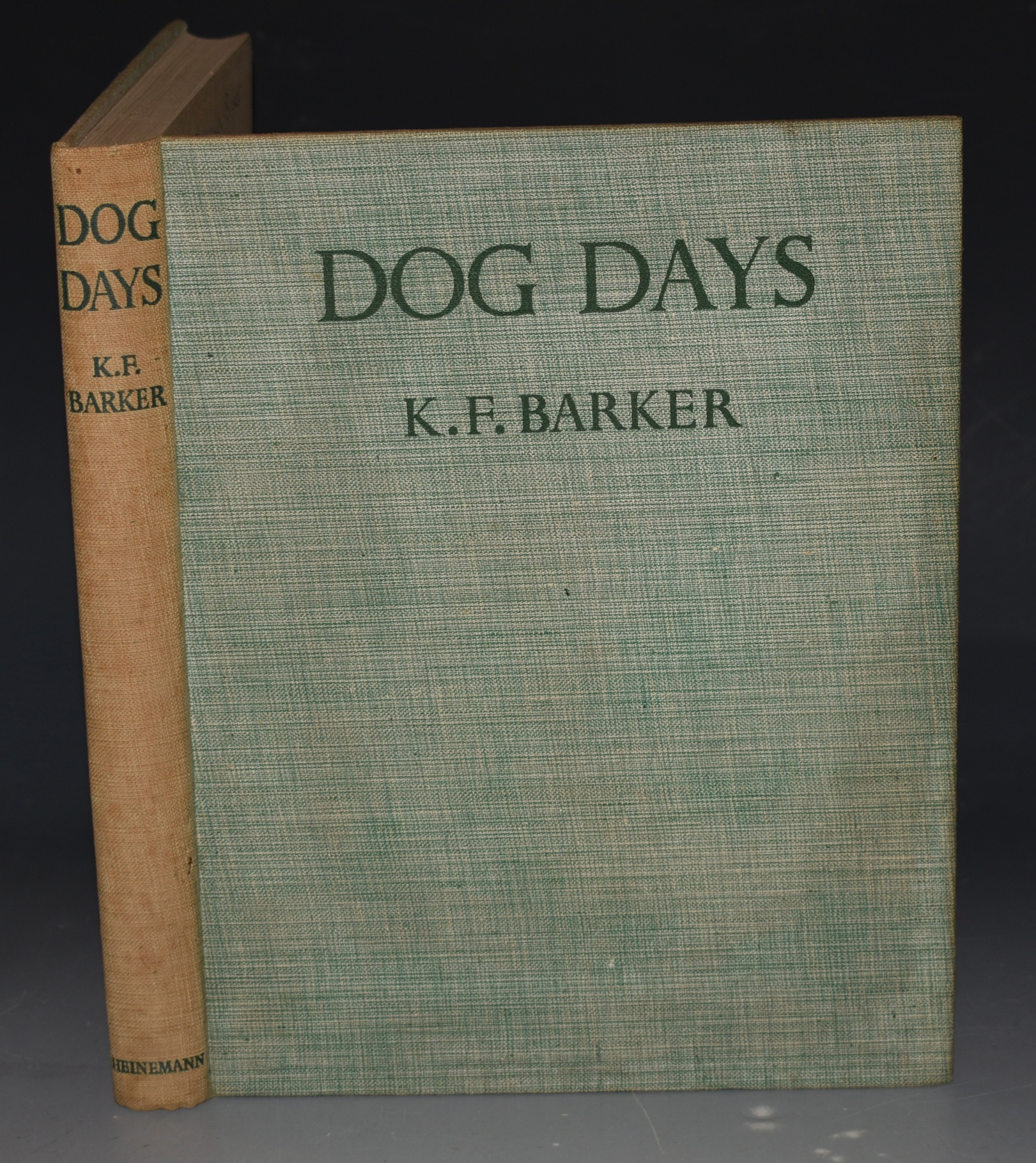Image for Dog Days. With Drawings in Colour and Black & White.