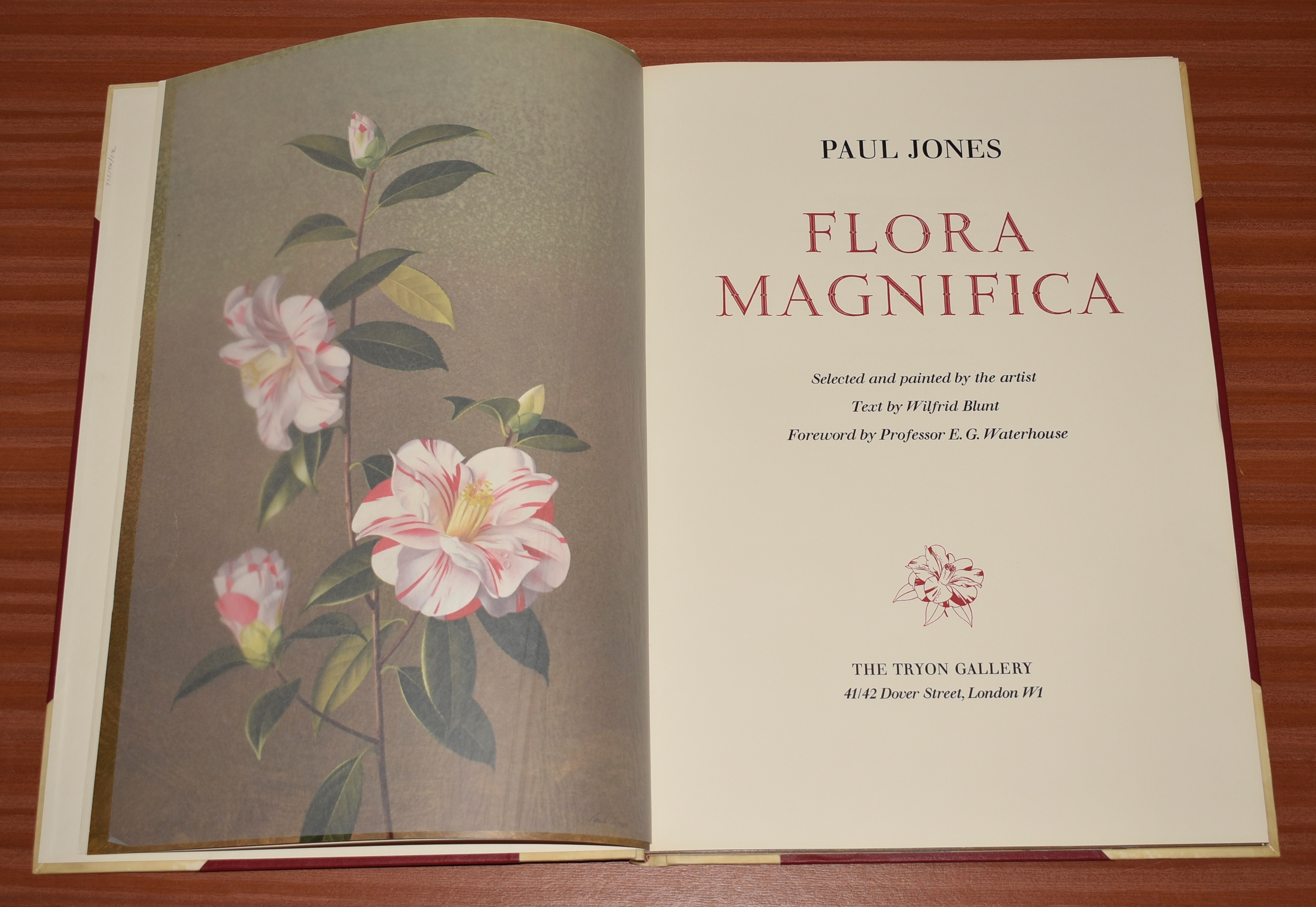 Image for Flora Magnifica. Signed by the artist (Paul Jones) to the limitation page. Wilfred Blunt (text); with a Preface by Sir George Taylor.