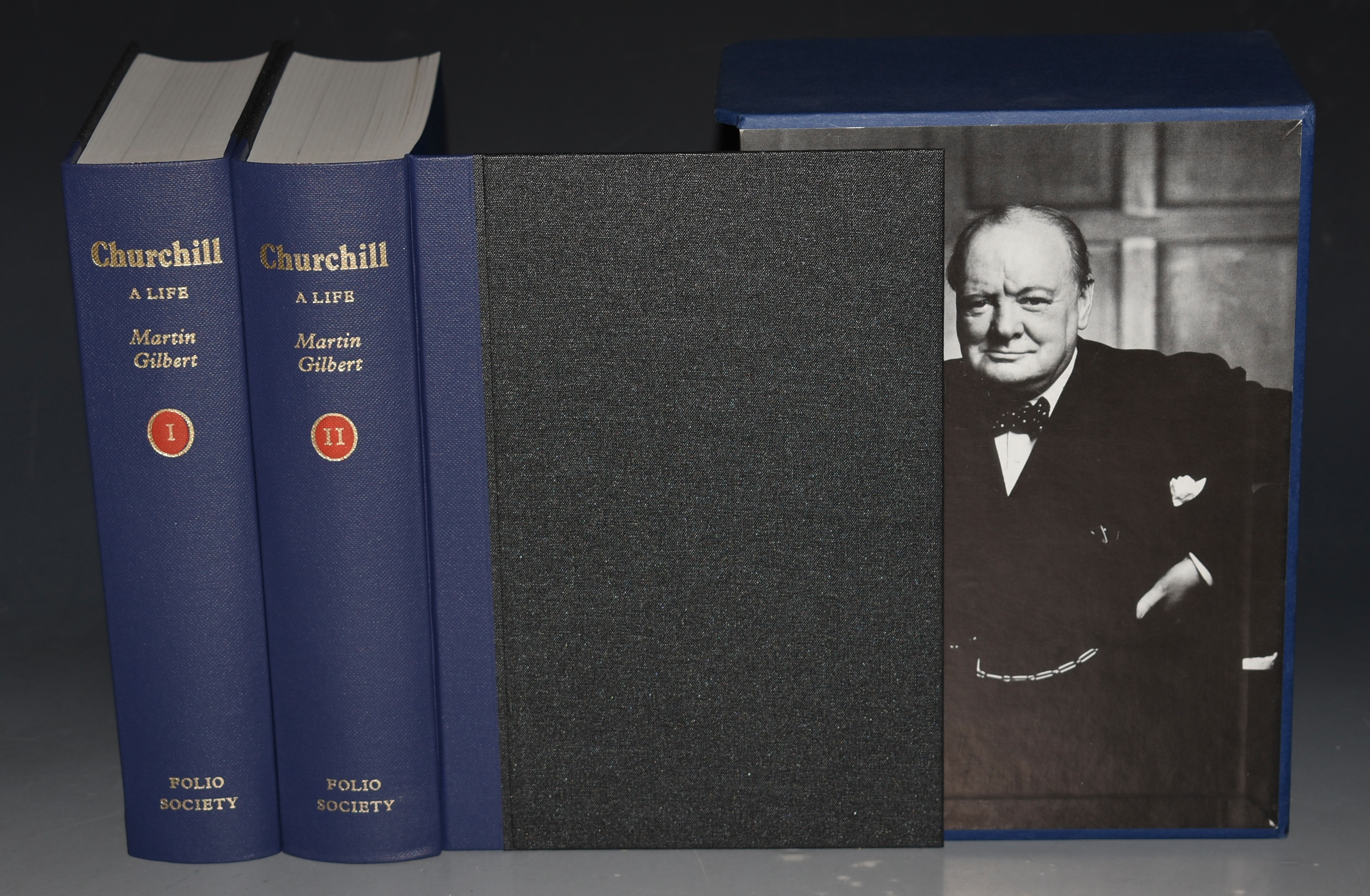Image for Churchill. A Life. Two Volumes In Slipcase.