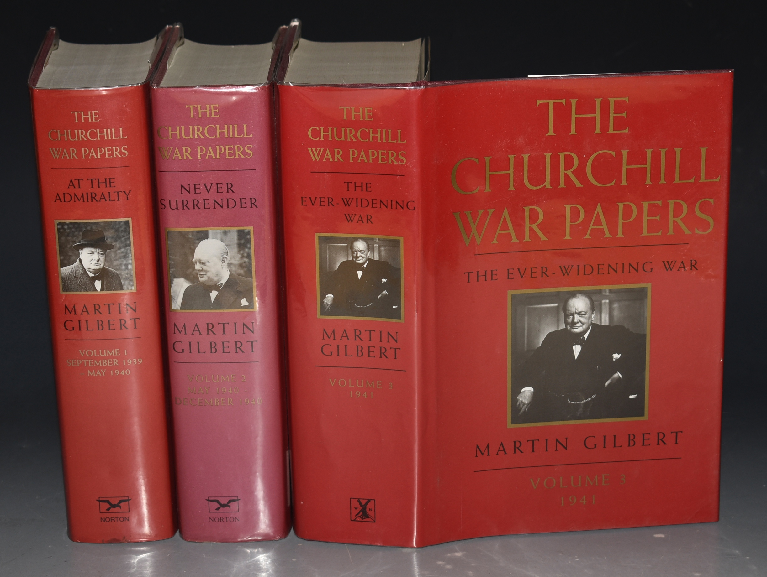 Image for THE CHURCHILL WAR PAPERS. Complete 3 Volume Set. Vol. I. At the Admiralty September 1939 - May 1940. Vol. 2 Never Surrender. May 1940 - December 1940. Vol. 3 The Ever-Widening War 1941