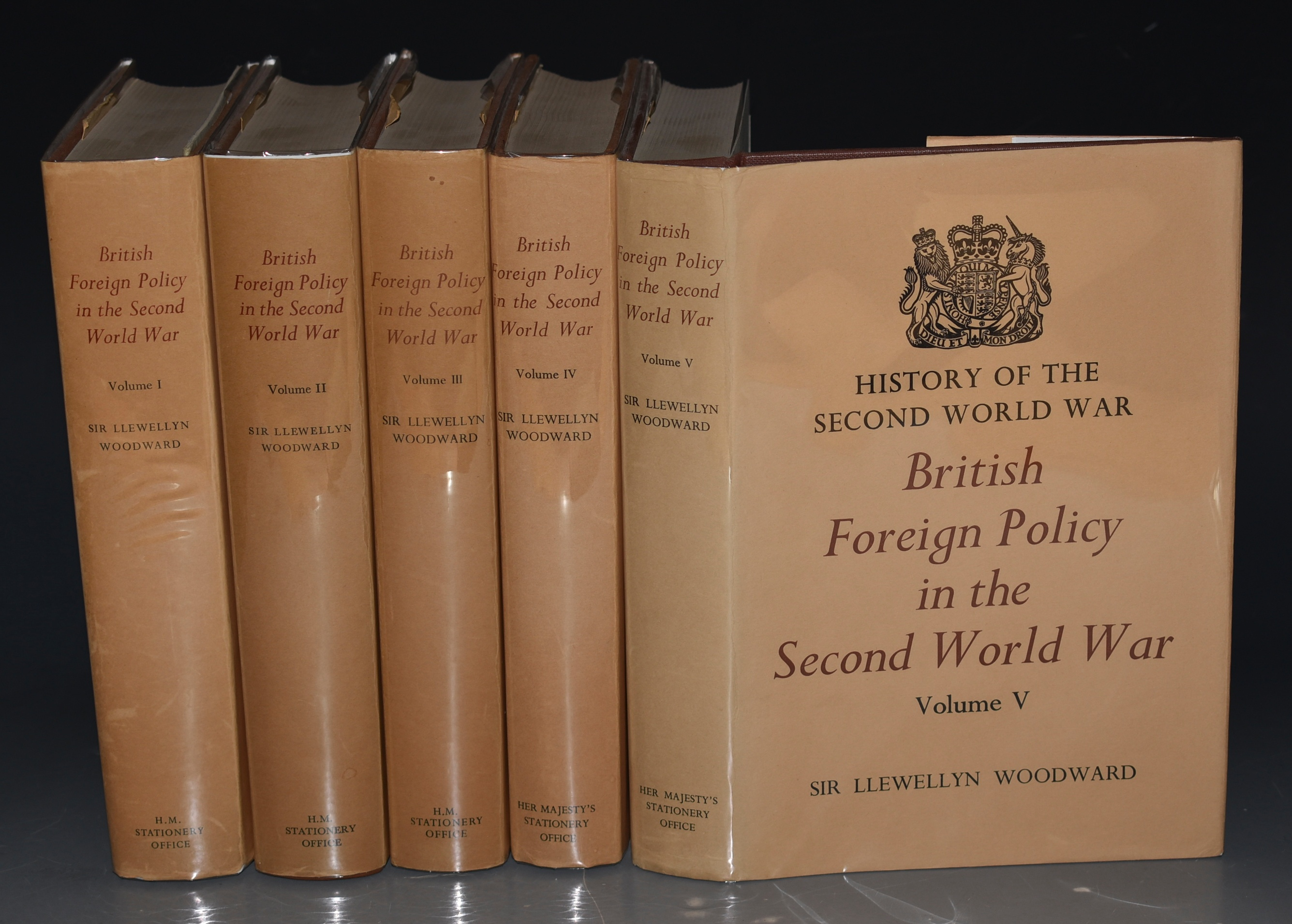 Image for British Foreign Policy in the Second World War. History of the Second World War. In Five Volumes.