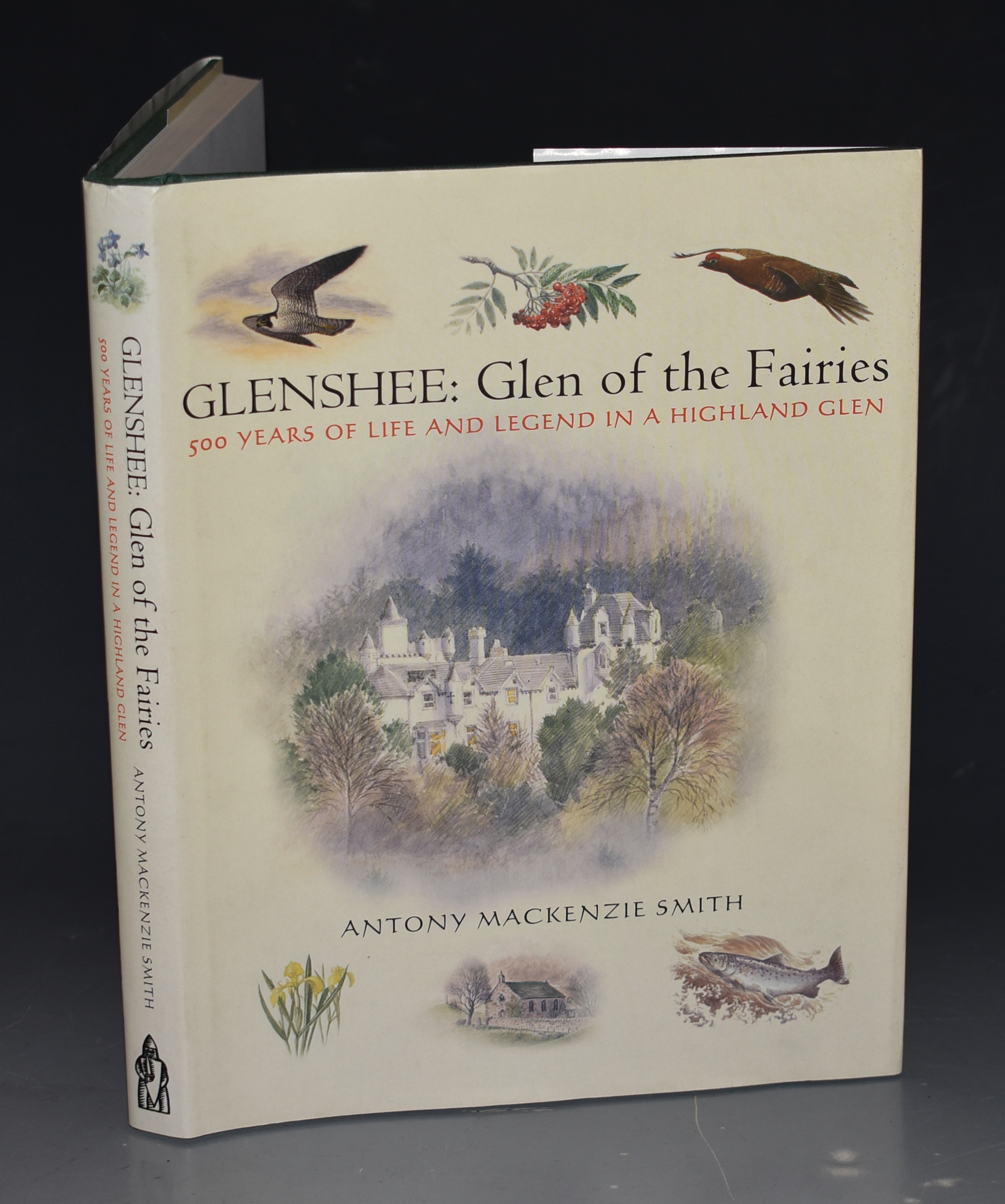 Image for Glenshee, Glen of The Fairies. 500 Years of Life and Legend in a Highland Glen. Watercolours by Philip Snow. SIGNED COPY.