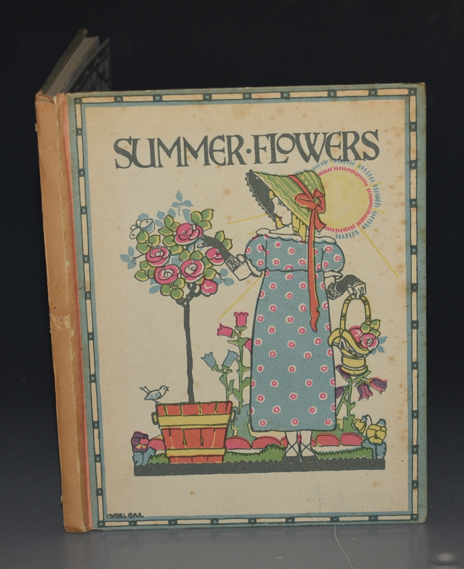 Image for Summer Flowers. A Flower Book for Little Folks. Verses by G.M. Faulding. Pictures by Eleanor S. March.