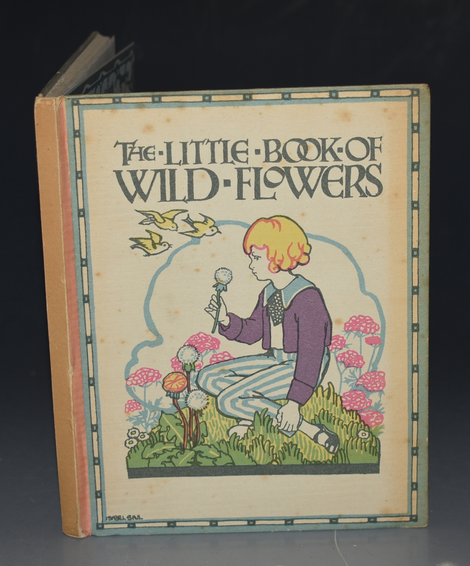 Image for A Little Book of Wild Flowers. A Flower Book for Little Folks. Verses by G.M. Faulding. Pictures by Eleanor S. March.