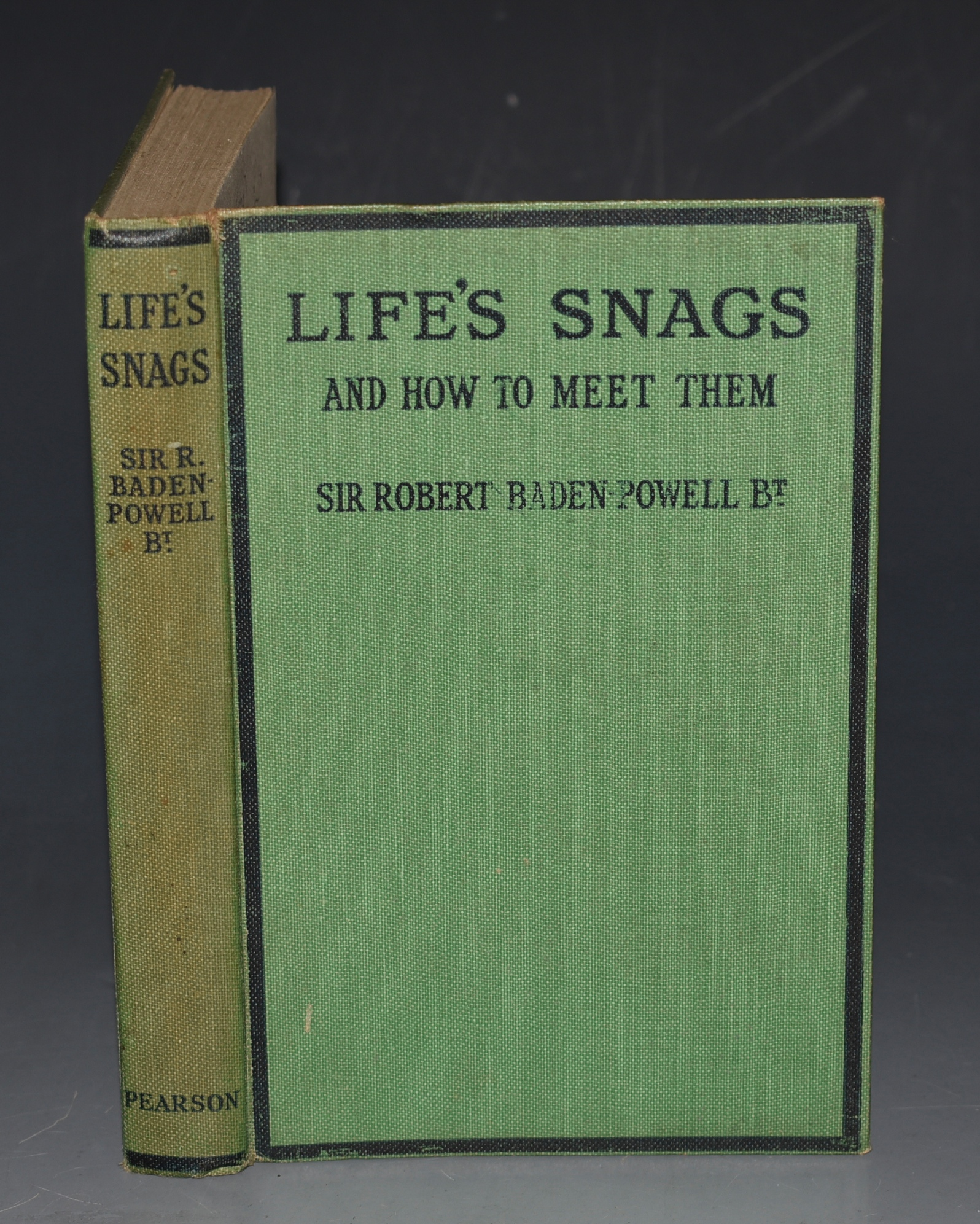 Image for Life's Snags, and How to Meet Them. Talks to Young Men.