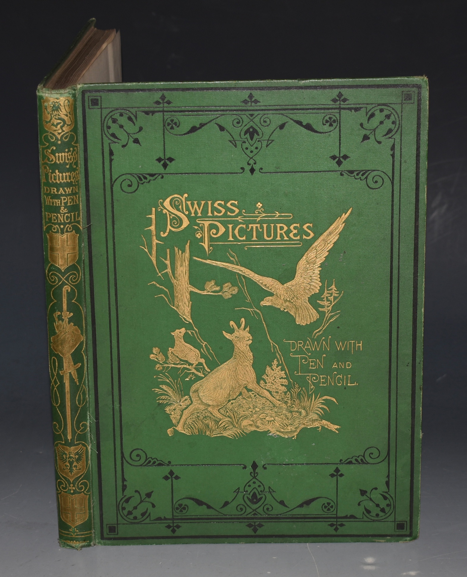 Image for Swiss Pictures. Drawn with Pen and Pencil. With Illustrations by Mr. Whymper and Others. A New and Enlarged Edition.