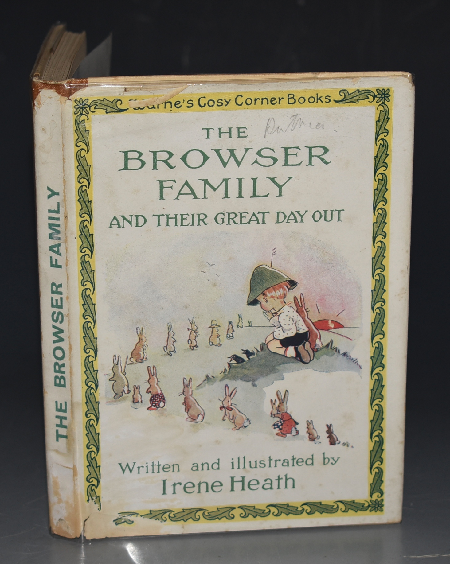 Image for The Browser Family and Their Great Day Out. Warne's Cosy Corner Books.