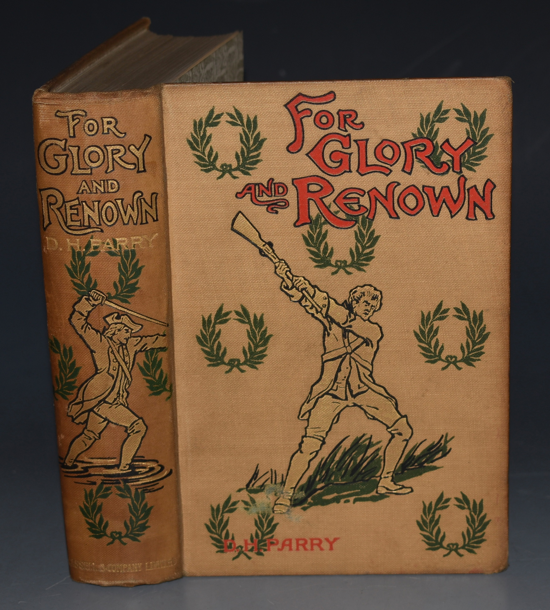 Image for For Glory and Renown. A Story of The Wars. With Eight Full-Page Illustrations by Gordon Brown and Paul Hardy.