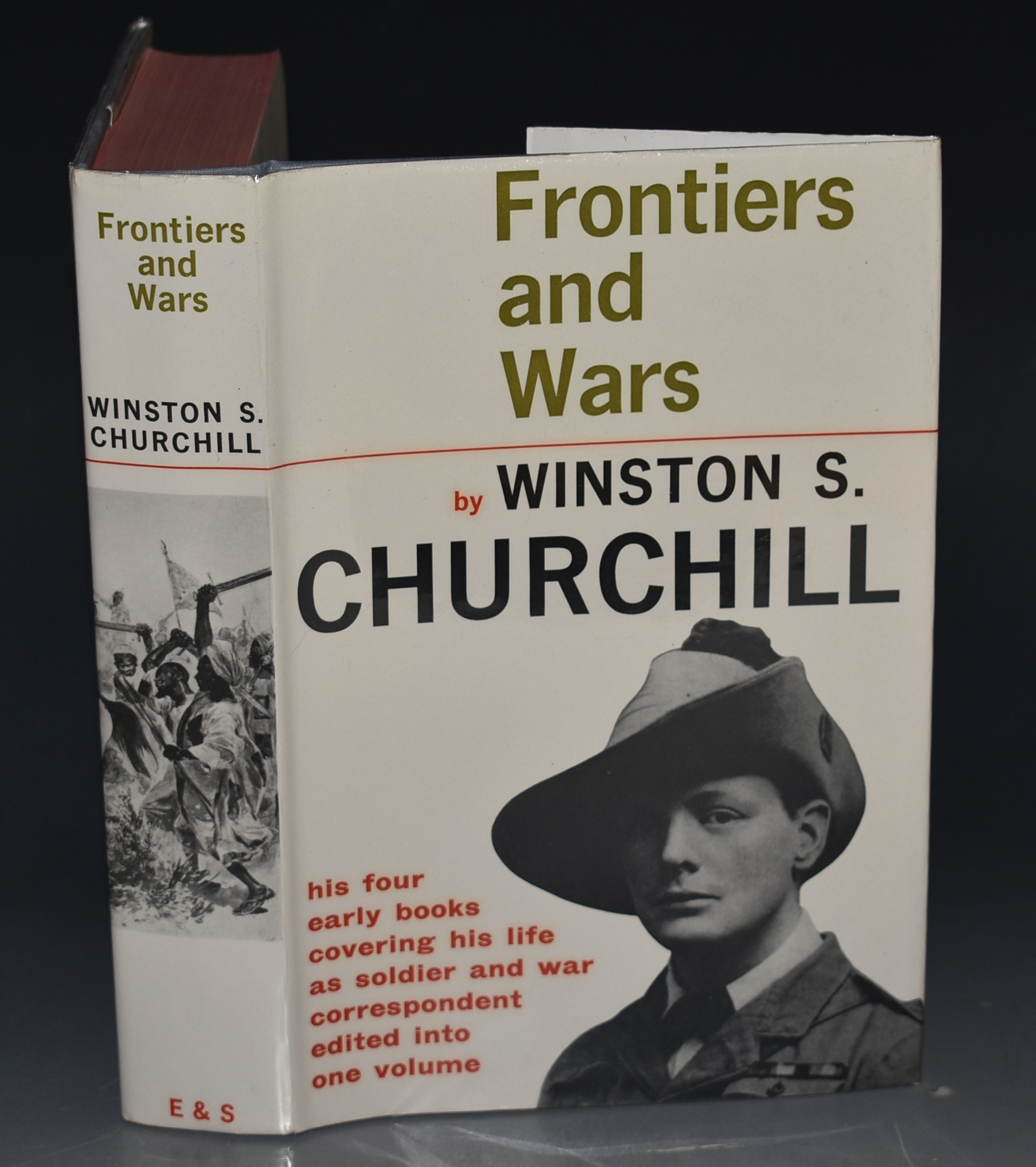 Image for Frontiers And Wars. His four early books covering his life as a soldier and war correspondent. Edited into one volume.