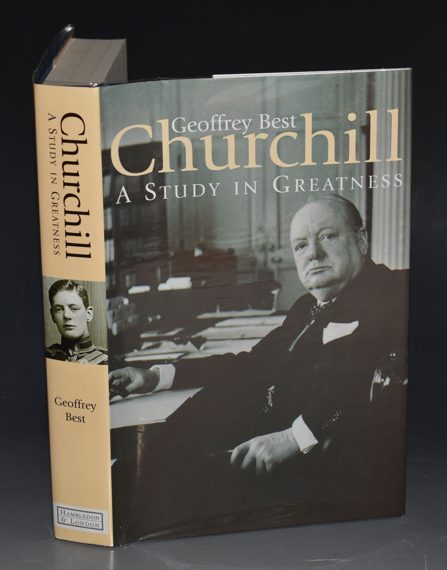Image for Churchill: A Study in Greatness.