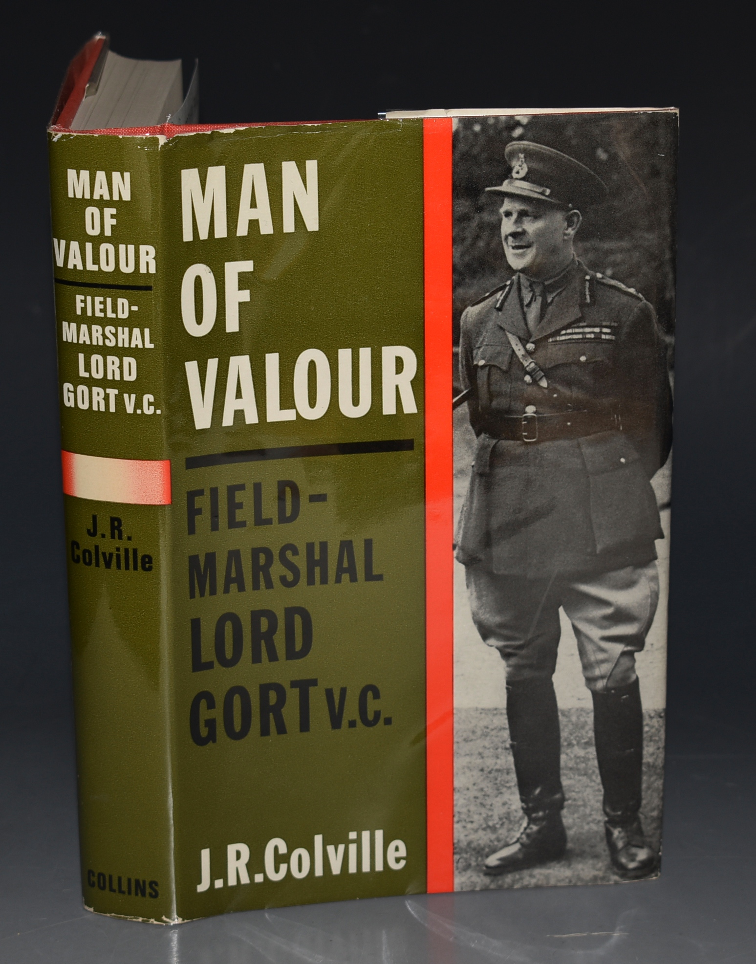 Image for Man of Valour. The Life of Field Marshal The Viscount Gort.