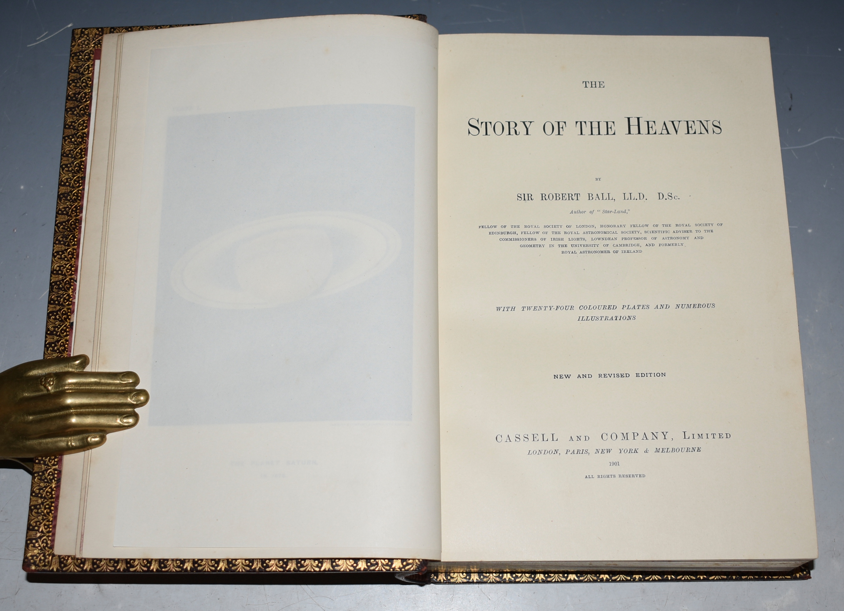 Image for The Story of the Heavens. With Twenty-four Coloured Plates and Numerous Illustrations. New and Revised Edition.