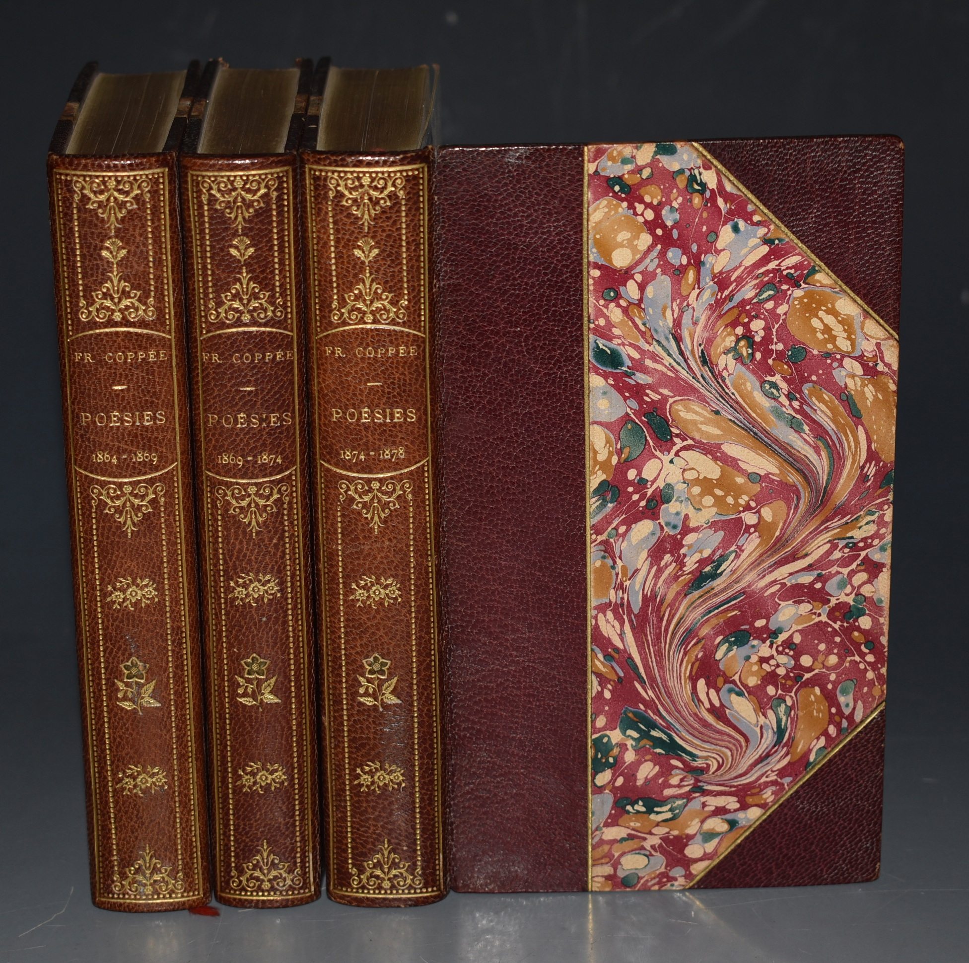 Image for Poesies de Francis Coppee. 1864-1869, 1869-1874, 1874-1878. In Three Volumes.
