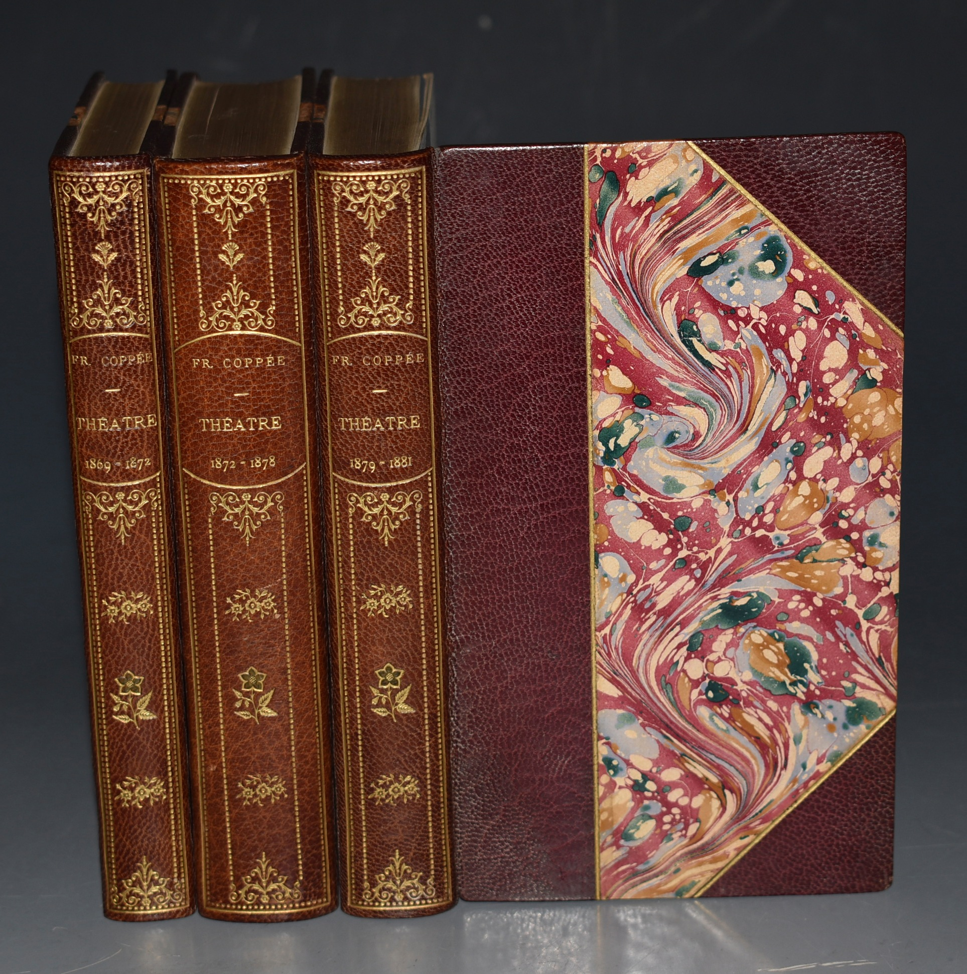 Image for Theatre de Francis Coppee. 1864-1869, 1869-1874, 1874-1878. In Three Volumes.
