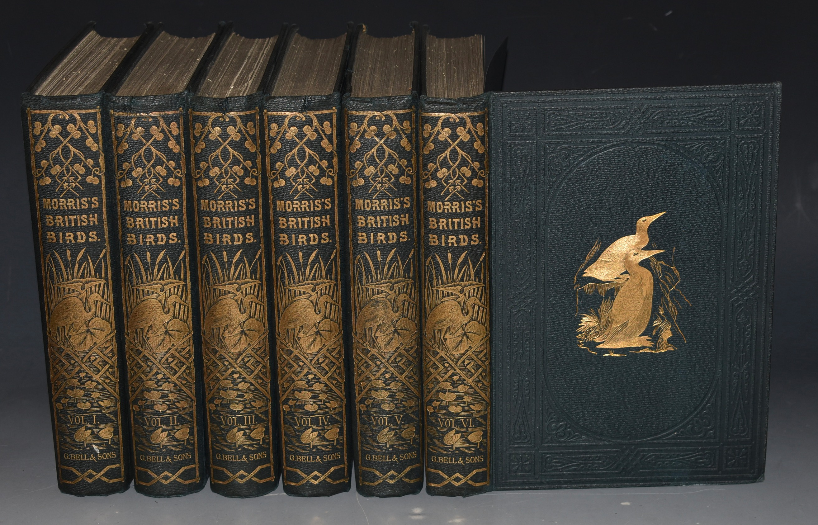 Image for A History of British Birds. Second edition. In Six volumes.