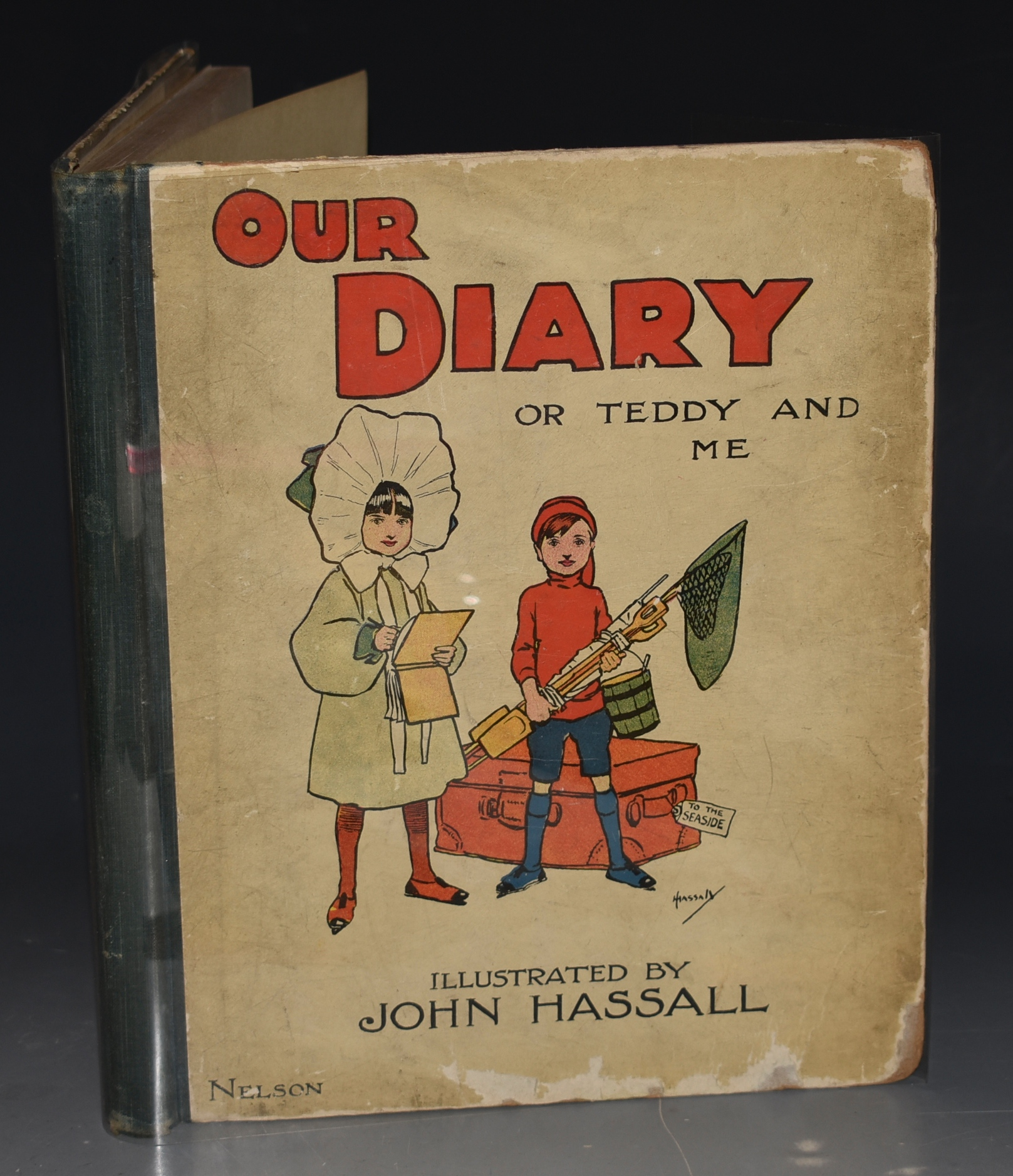 Image for Our Diary, or Teddy and Me. Illustrated by John Hassall.