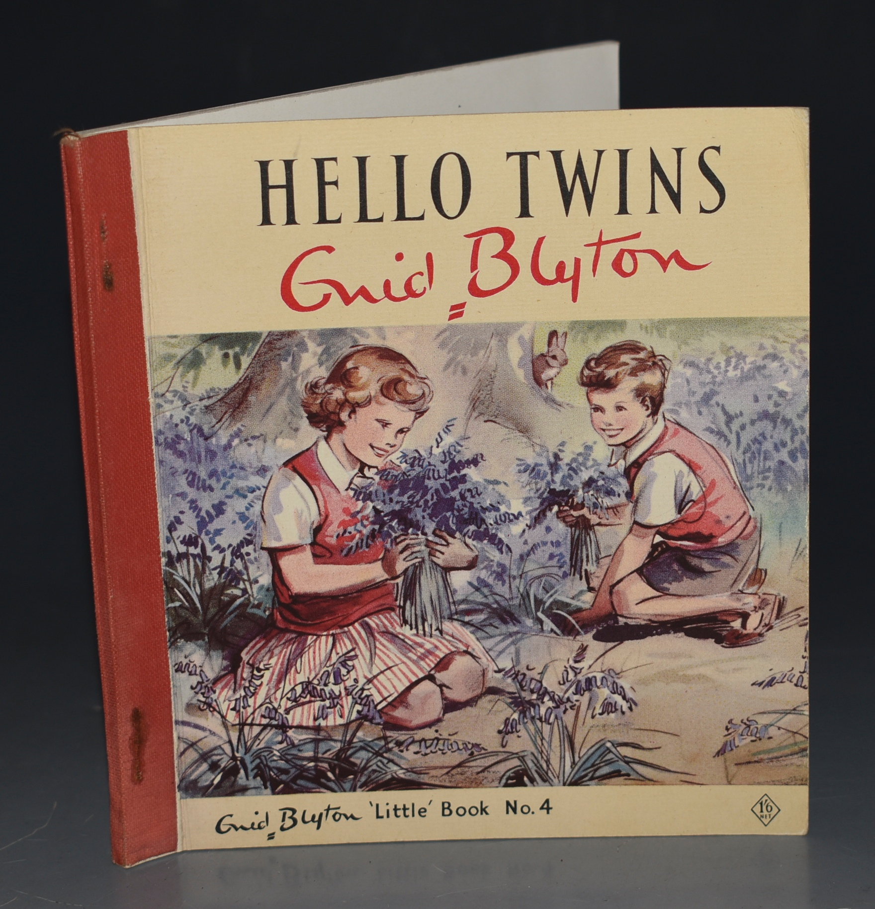 "Image for Hello, Twins! Illustrated by Eileen Soper. Enid Blyton ""Little"" Book No. 4."