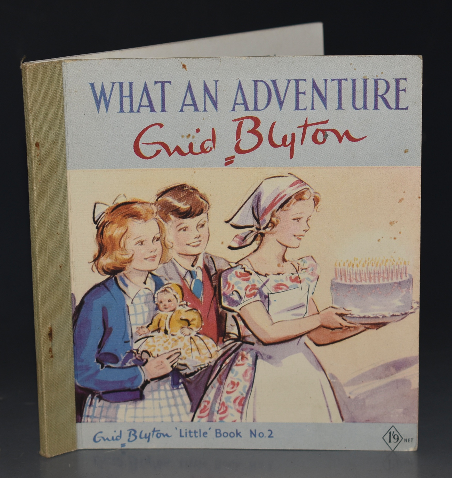 "Image for What An Adventure. Illustrated by Eileen Soper. Enid Blyton ""Little"" Book No. 2."