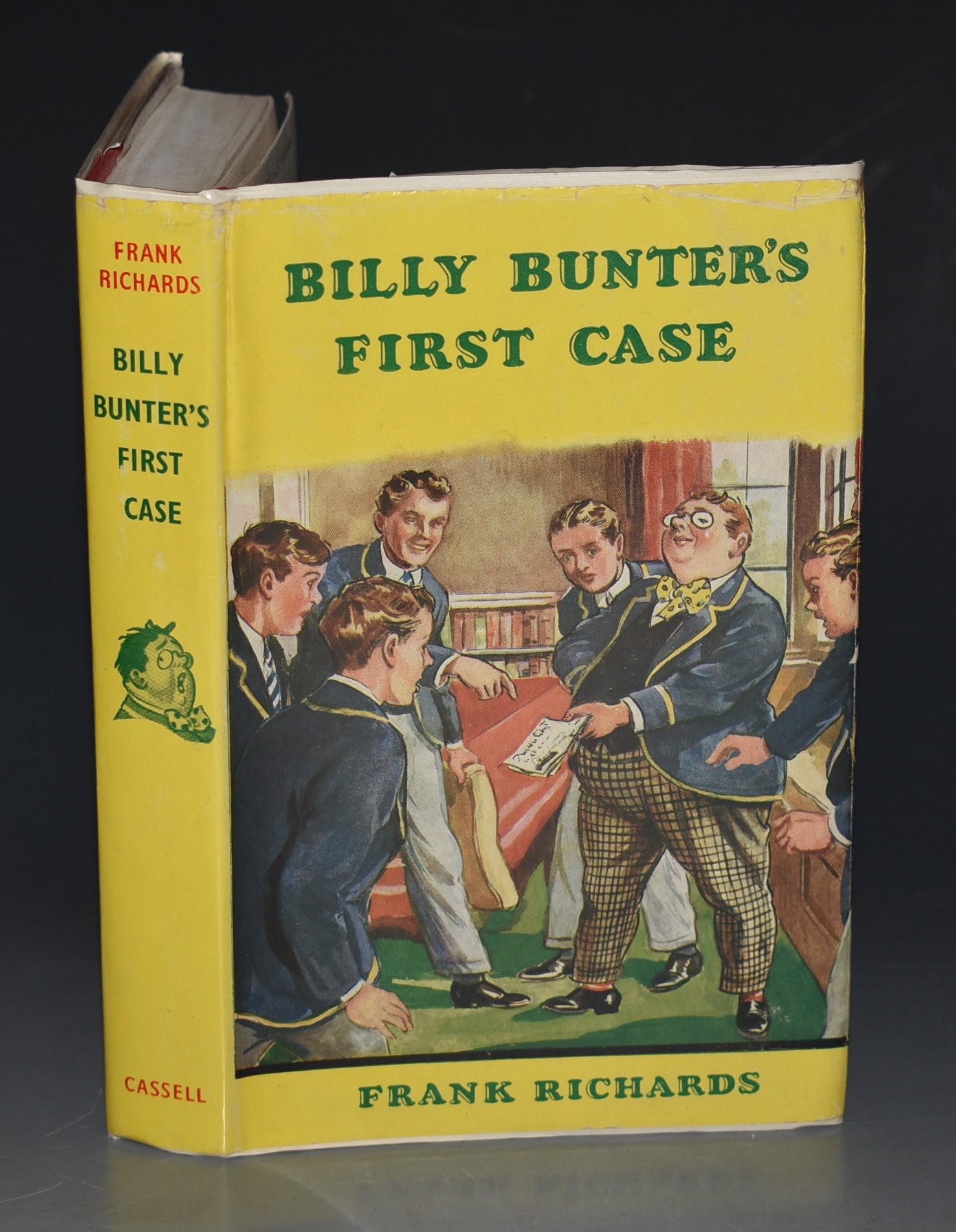 Image for Billy Bunter's First Case. Illustrated by R. J. MacDonald. Signed by Edith Wood.