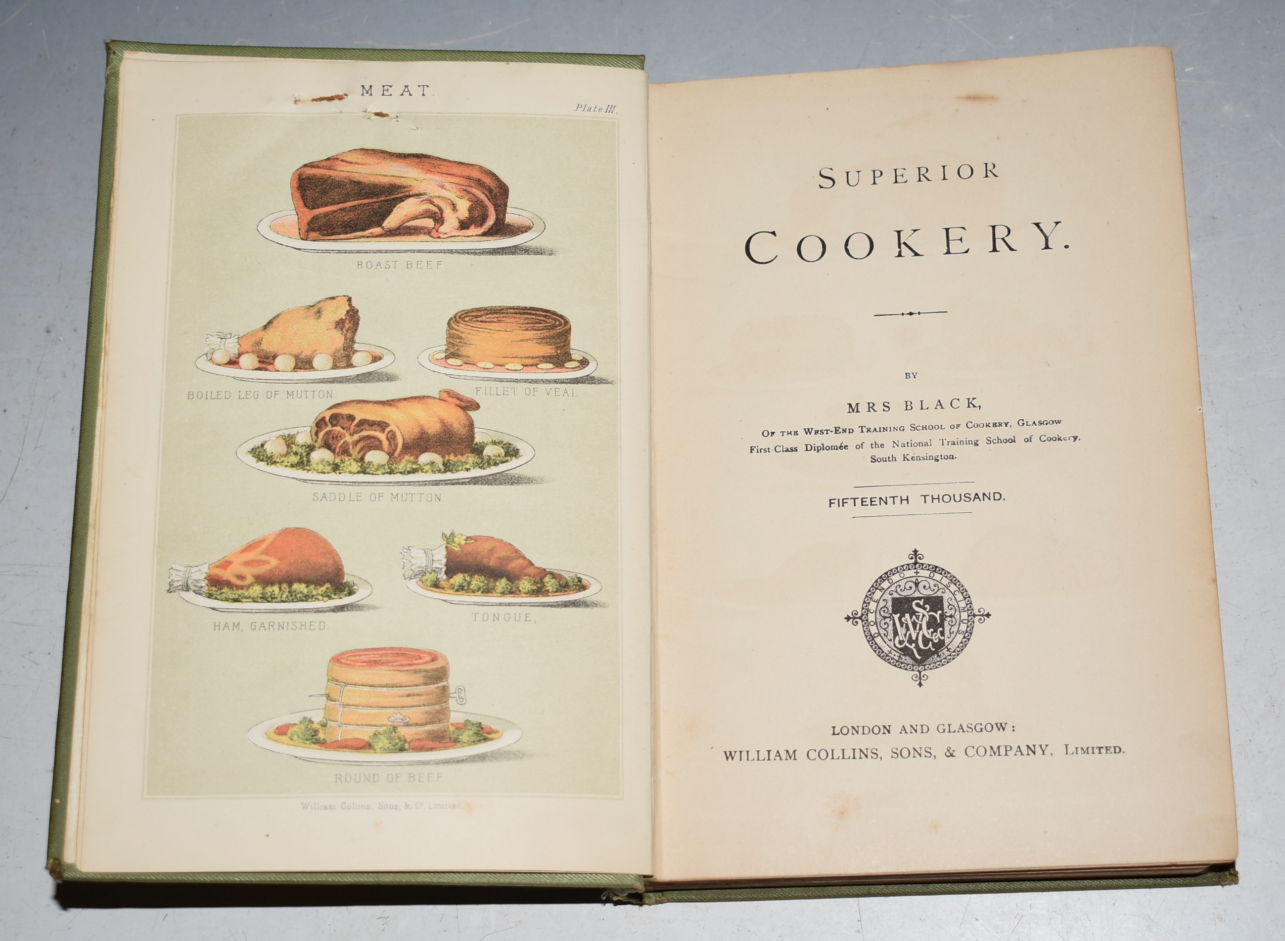 Image for Superior Cookery.