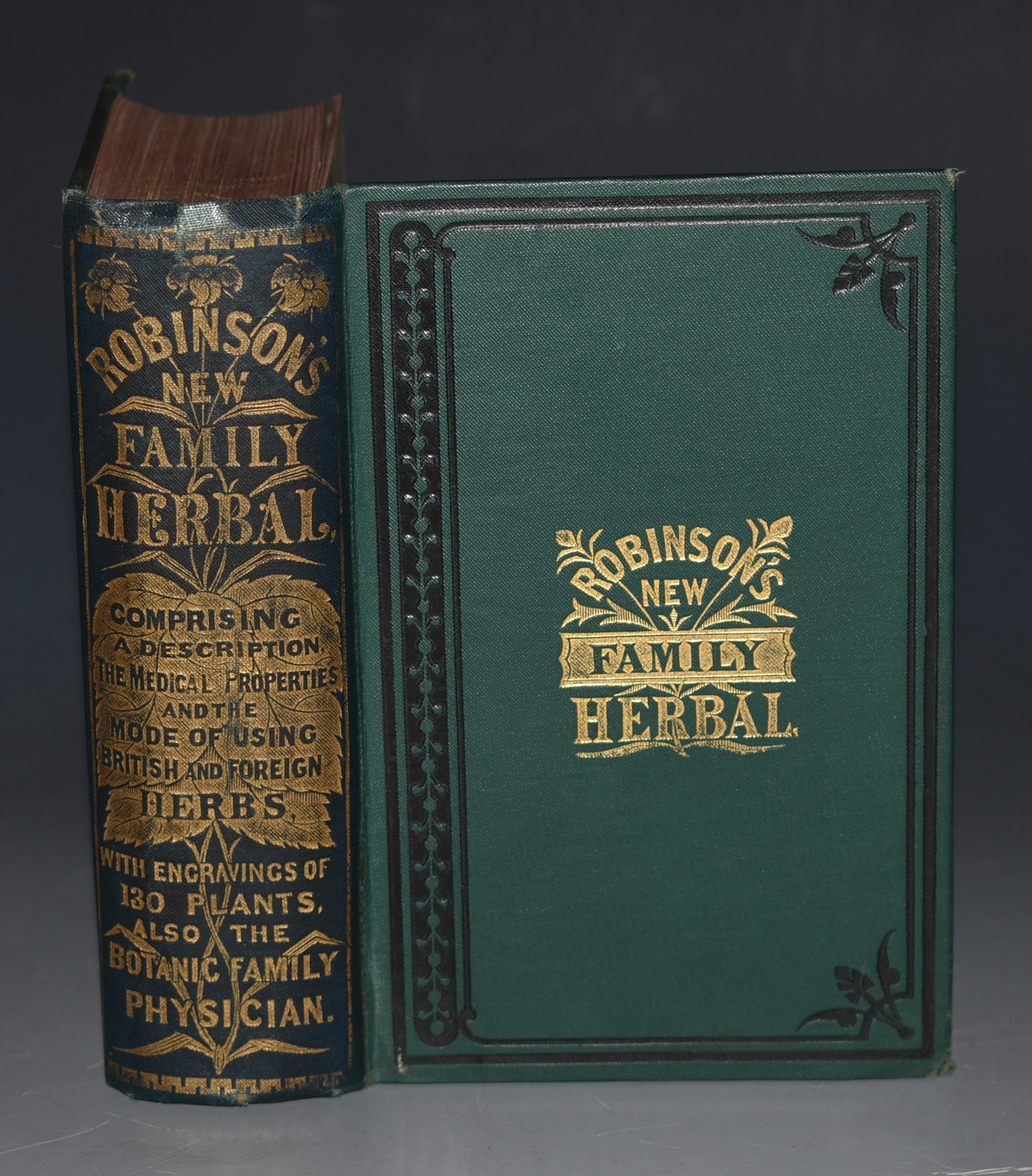 Image for The New Family Herbal: Comprising a description, and the medical virtues of British and Foreign Plants, founded on the works of eminent modern english and american writers on the medical properties of herbs: to which is added, the Botanic Family Physician; valuable medical receipts; and important directions regarding diet, clothing, bathing, air, exercise, &c., &c.