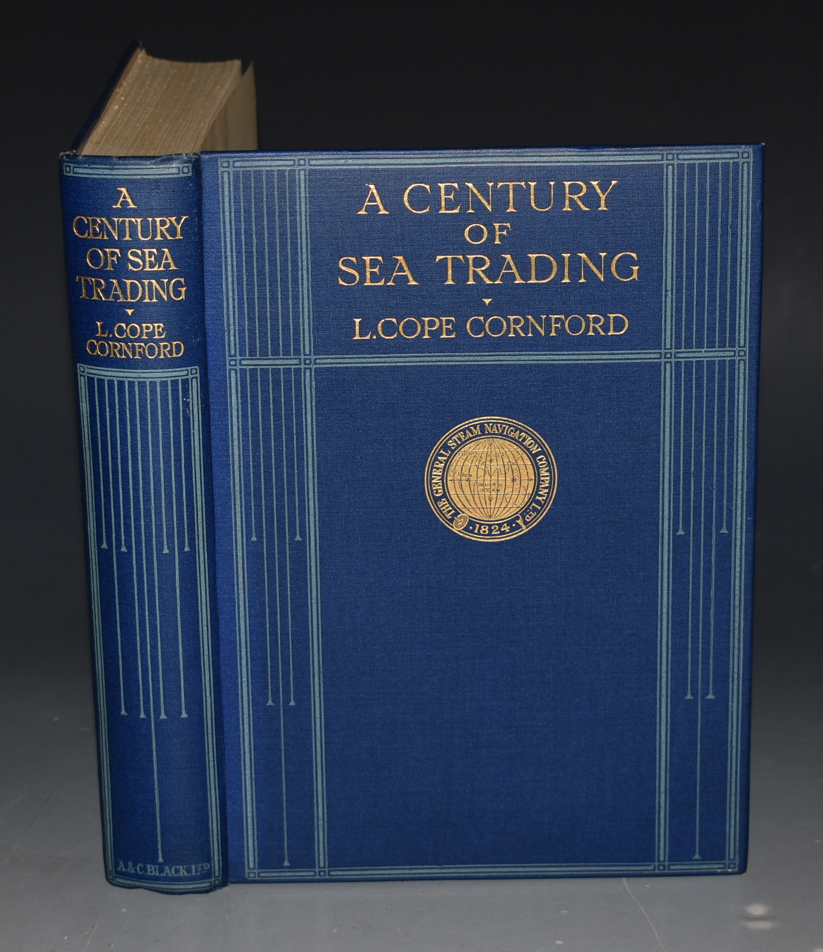 Image for A Century of Sea Trading. 1824-1924. The General Steam Navigation Company Ltd