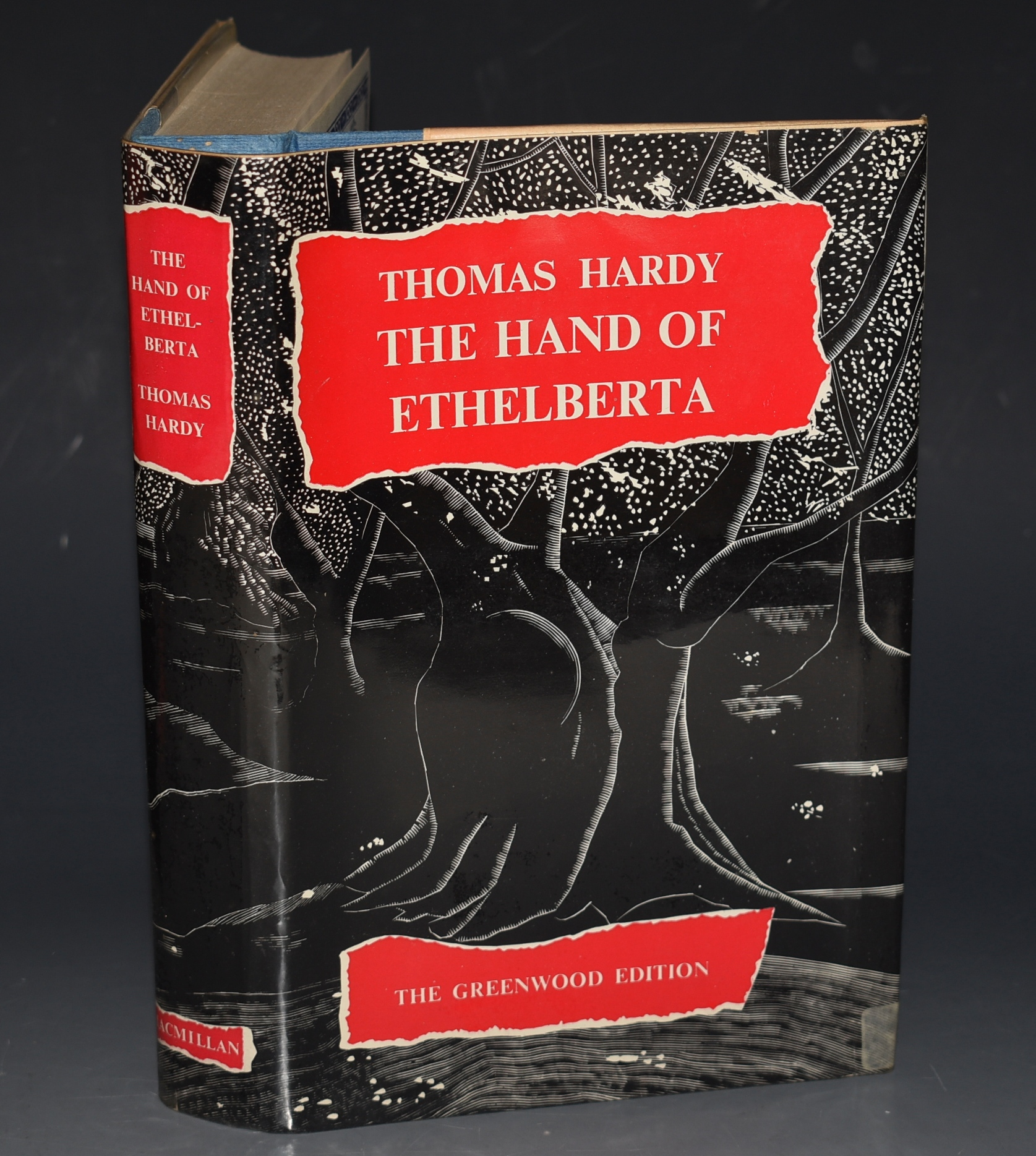 Image for The Hand of Ethelberta; A Comedy in Chapters. The Greenwood Edition.