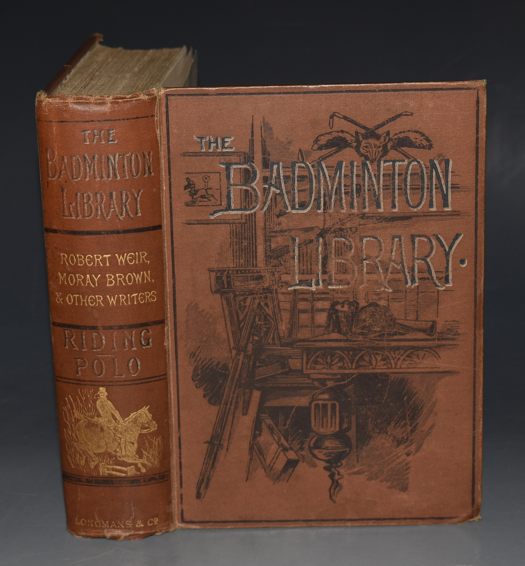 Image for RIDING and POLO. THE BADMINTON LIBRARY.