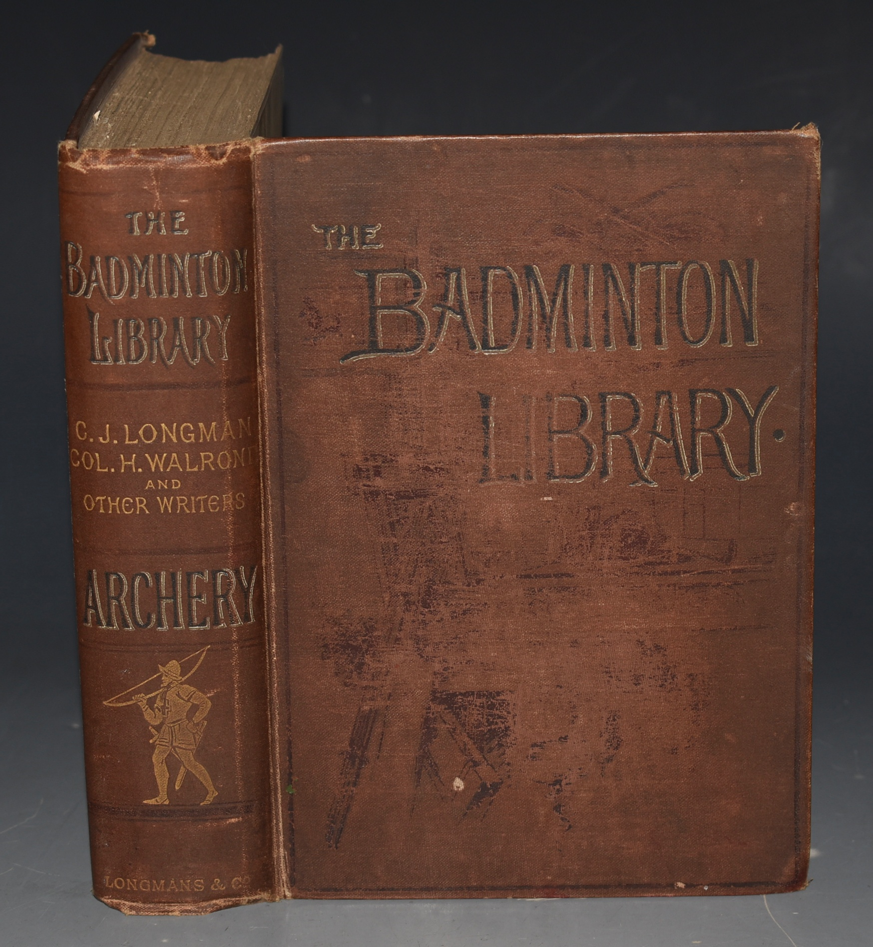 Image for Archery. The Badminton Library. With contributions by Legh, Dillon, Hawkins Fisher, Hussey, Bedford, Balfour Paul, Maxon. With Numerous Illustrations. Reissue.