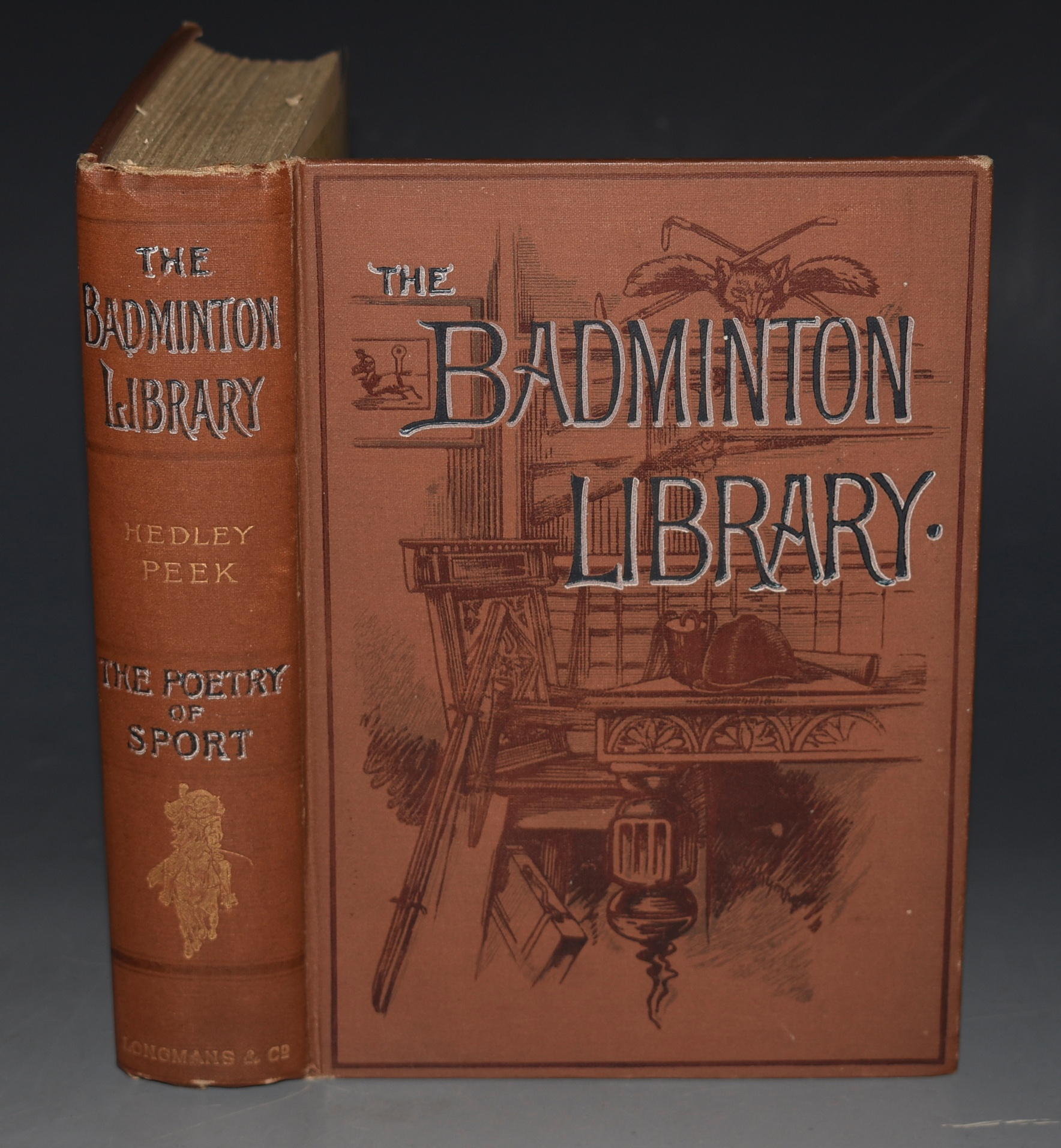 Image for THE POETRY OF SPORT. With a chapter on Classical Allusions to Sport, by ANDREW LANG, and a Special preface to the Badminton Library, by A.E.T. WATSON.  THE BADMINTON LIBRARY. Badminton Library.