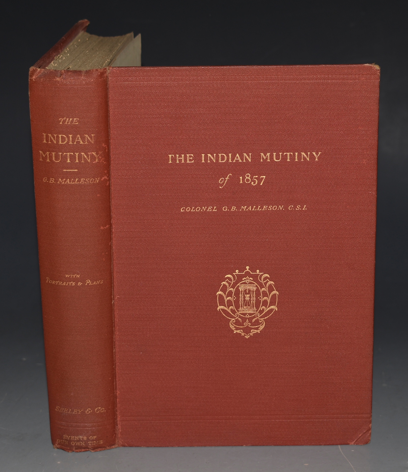 Image for The Indian Mutiny of 1857. With Portraits and Plans.