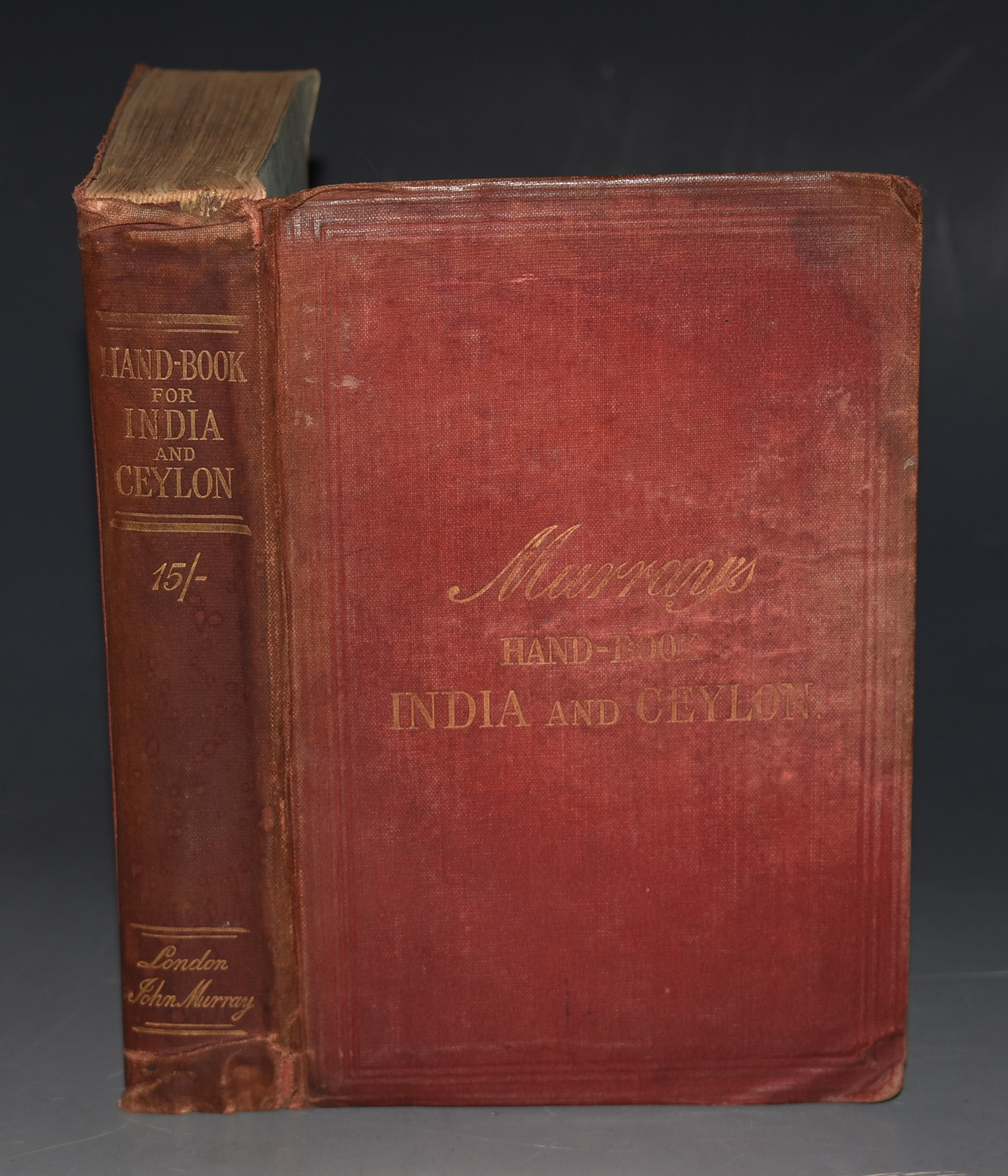 Image for A Handbook for Travellers in India and Ceylon. Including the Provinces of Bengal, Bombay, and Madras, (The Punjab, North-West Provinces, Rajputana, Central Provinces, Mysore, etc.) The Native States and Assam.