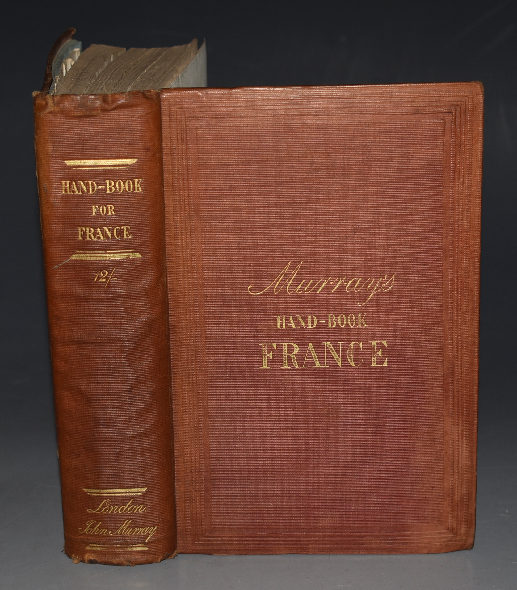 Image for Handbook for Travellers in France: Being a guide to Normandy, Brittany; The Rivers Loire, Seine, Rhone, and Garonne; The French Alps, Dauphine, Provence, and The Pyrenees: With description of the Principal Routes, railwas, the approaches to italy, the chief watering places etc. With Five Travelling Maps.