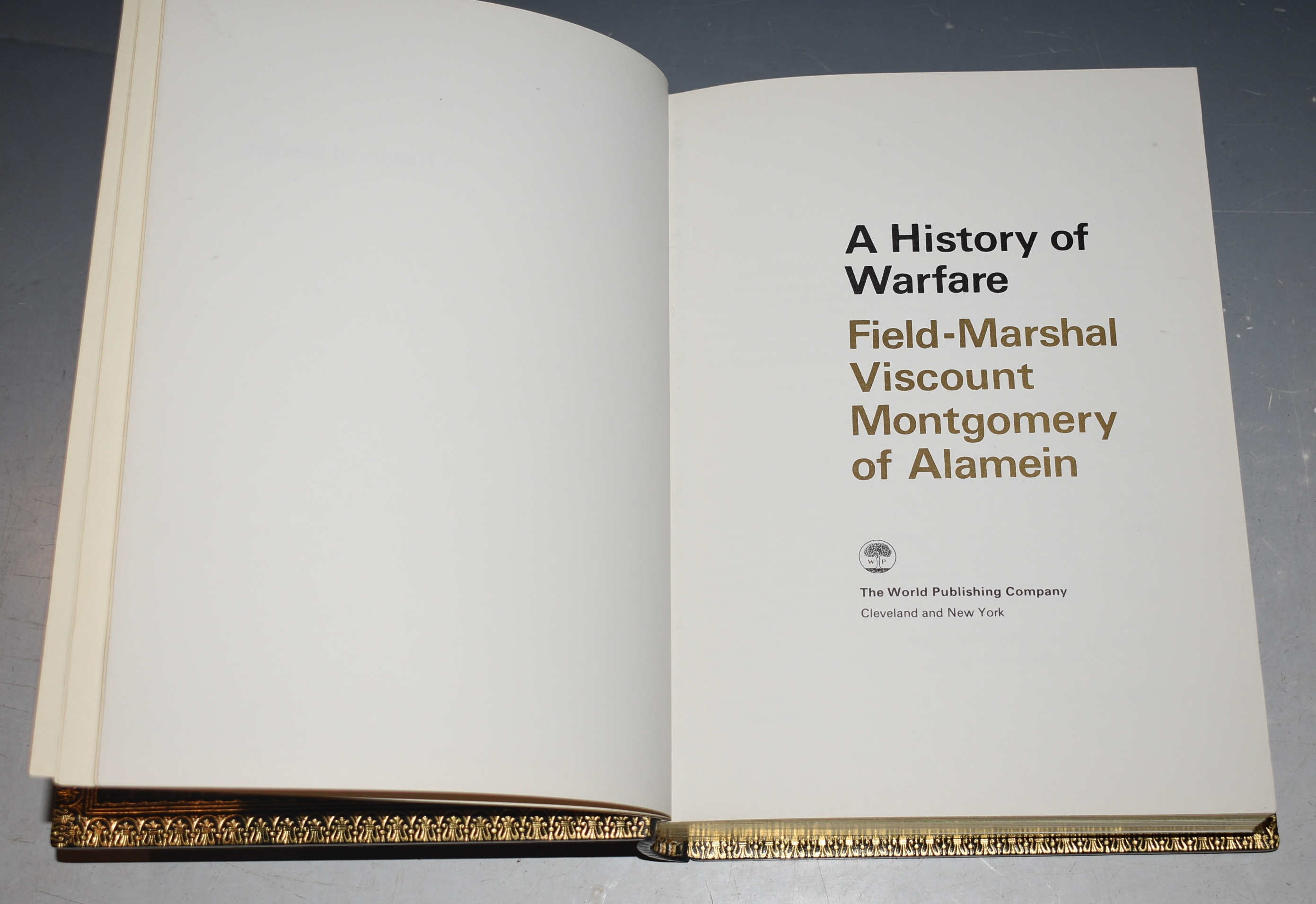 Image for A History of Warfare. SIGNED Limited Numbered Edition.