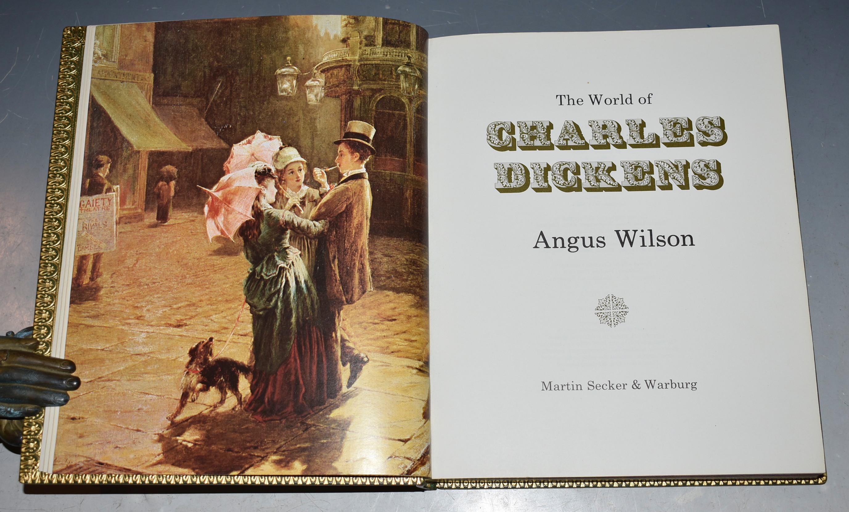 Image for The World of Charles Dickens. SIGNED Limited Numbered Edition.