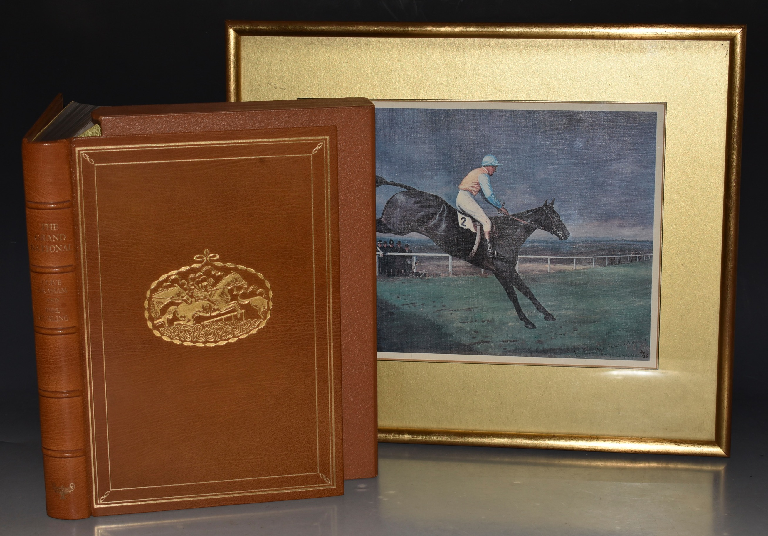 Image for The Grand National. SIGNED Limited Numbered Edition.