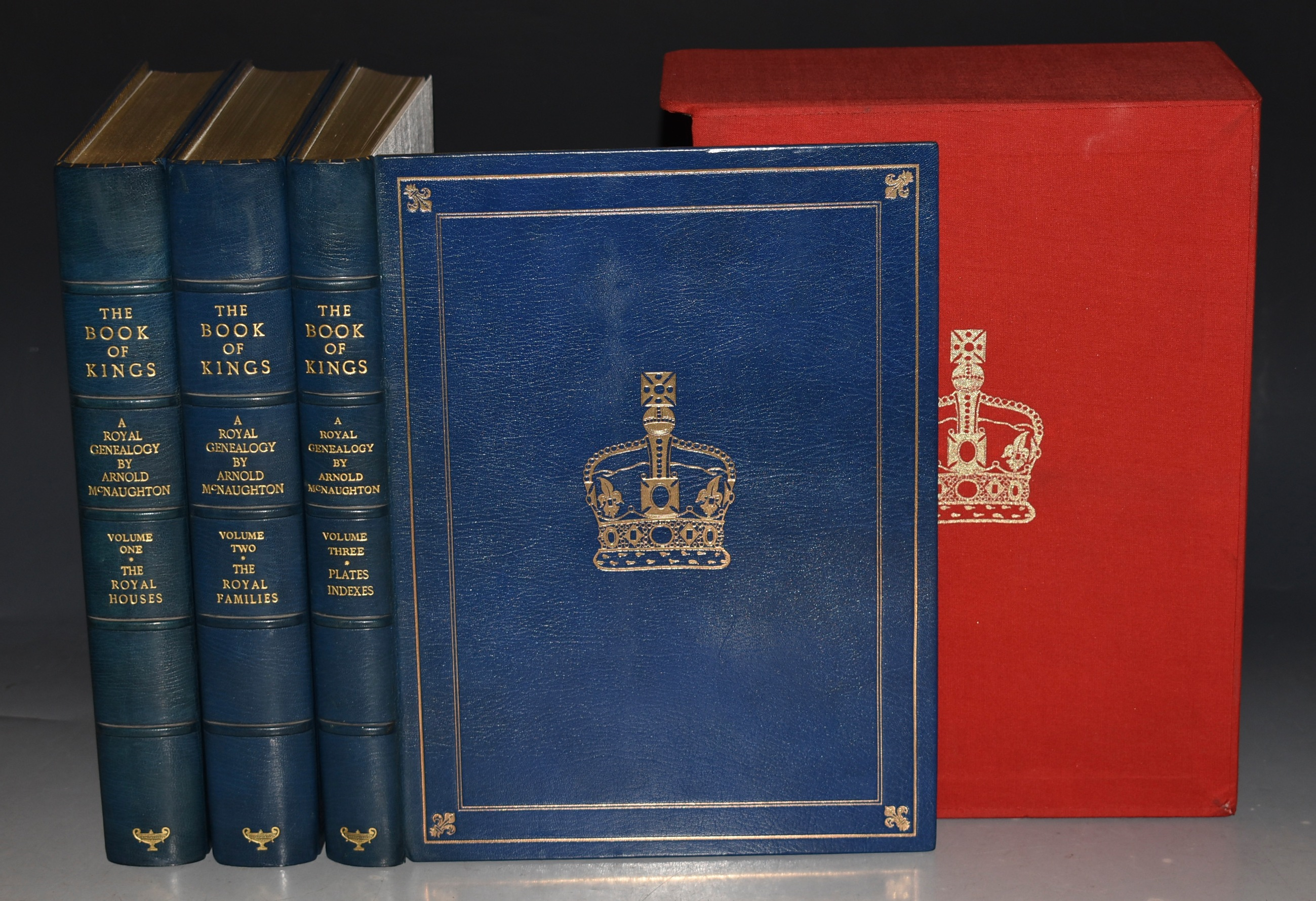 Image for The Book of Kings; A Royal Genealogy. SIGNED Limited Numbered Edition. In Three Volumes.