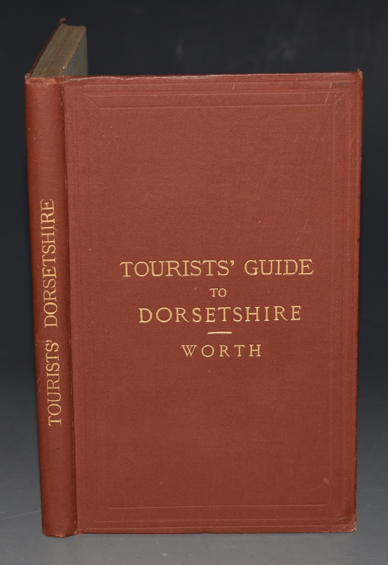 Image for Tourist's Guide To Dorsetshire. Coast, Rail, And Road. With Map.