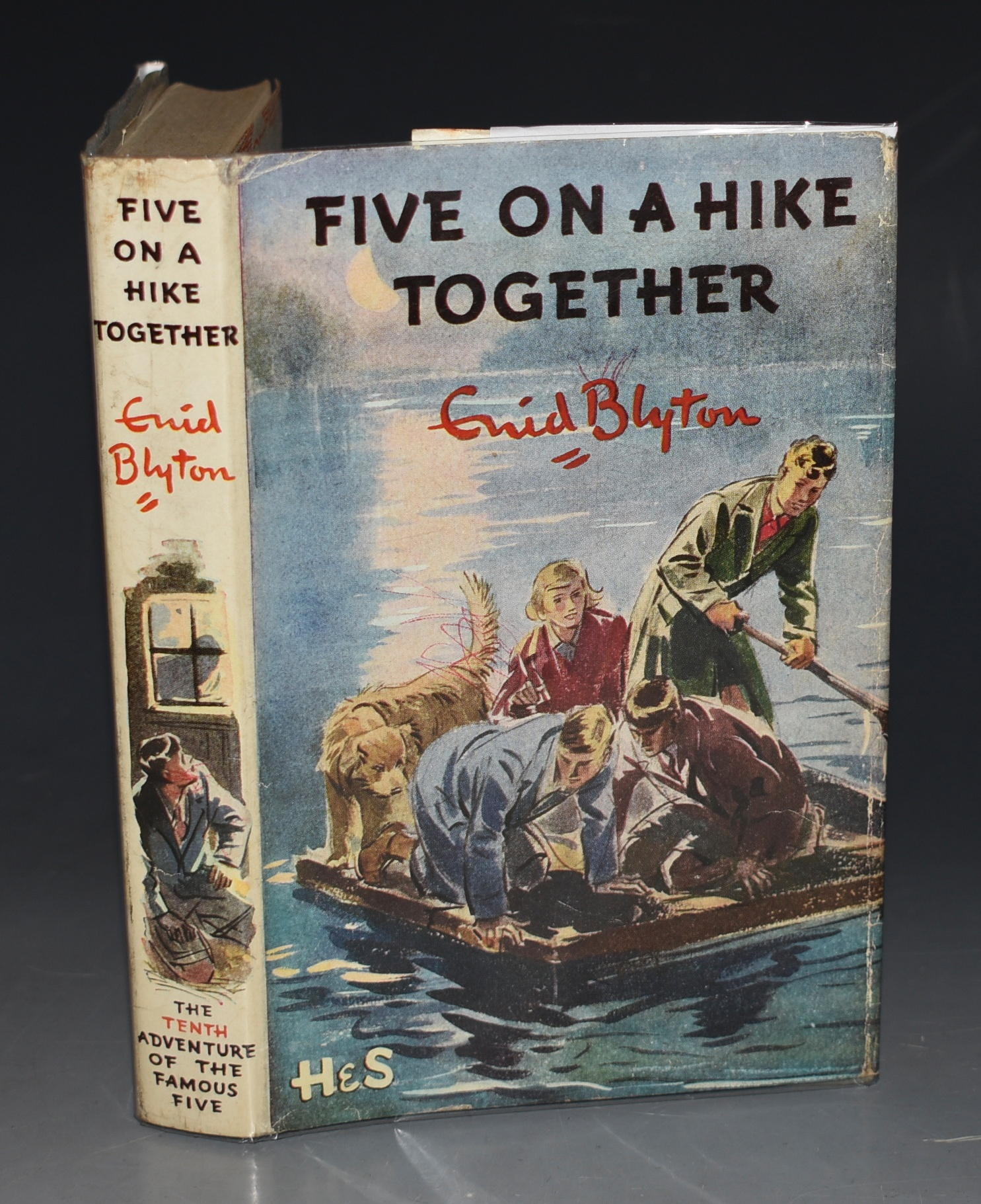 Image for Five On A Hike Together. Pictured by Eileen A. Soper. SIGNED COPY.