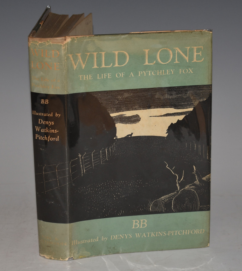 Image for Wild Lone. The Story of a Pytchley Fox. Illustrated by D.J. Watkins-Pitchford. Foreword by Sir Charles Frederick.