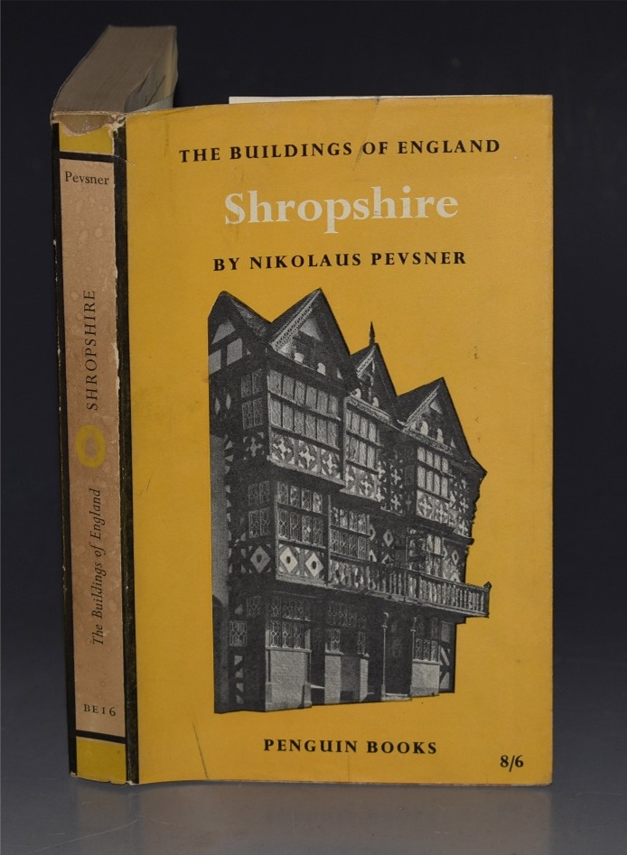 Image for Shropshire. The Buildings of England.