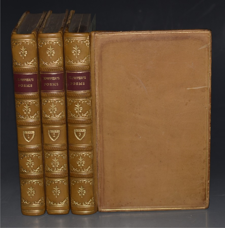Image for Poetical Works of Wiliam Cowper Edited by Robert Bell. In Three Volumes.