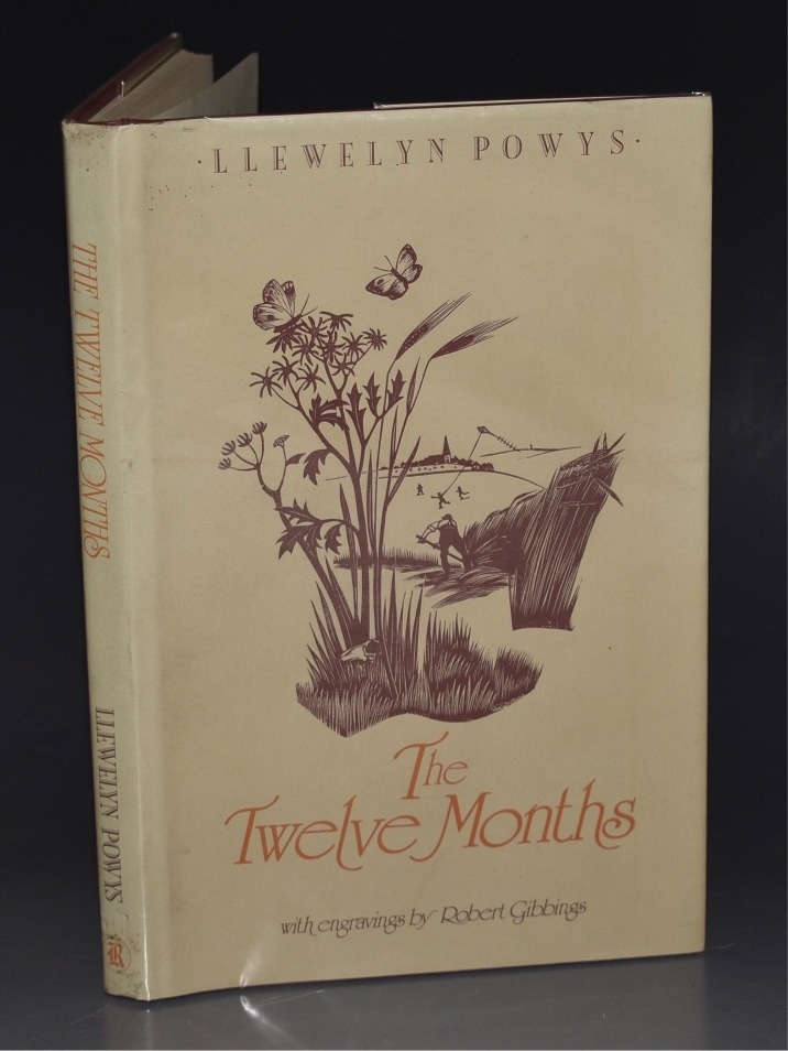 Image for The Twelve Months. with engravings by Robert Gibbings.