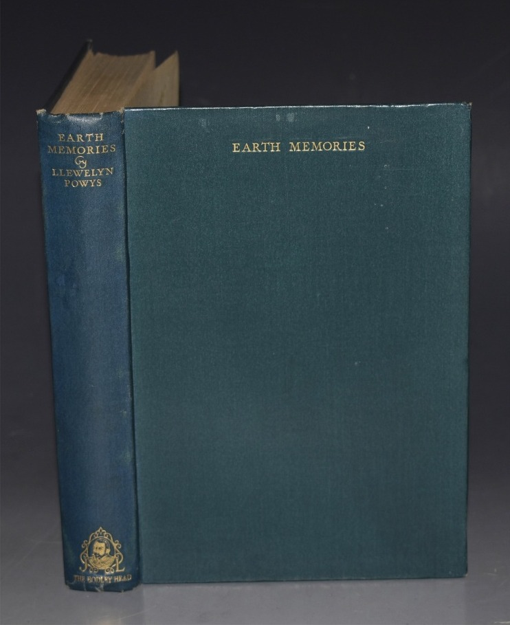 Image for Earth Memories. Illustrated with woodcuts by GERTRUDE MARY POWYS.