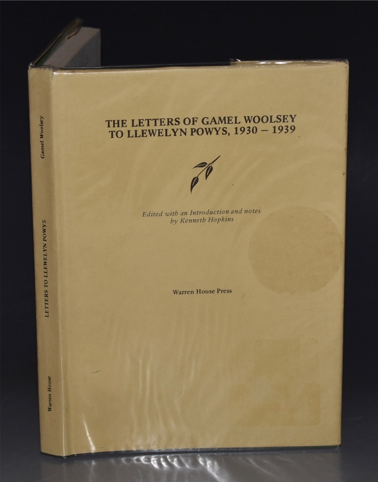 Image for Letters of Gamel Woolsey to Llewelyn Powys, 1930-1939. Edited with an introduction and notes by Kenneth Hopkins.