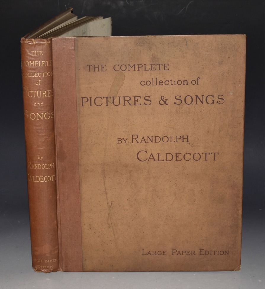 Image for The Complete Collection of Pictures and Songs. Preface by Austin Dobson. Engraved and Printed by Edmund Evans. LIMITED EDITION