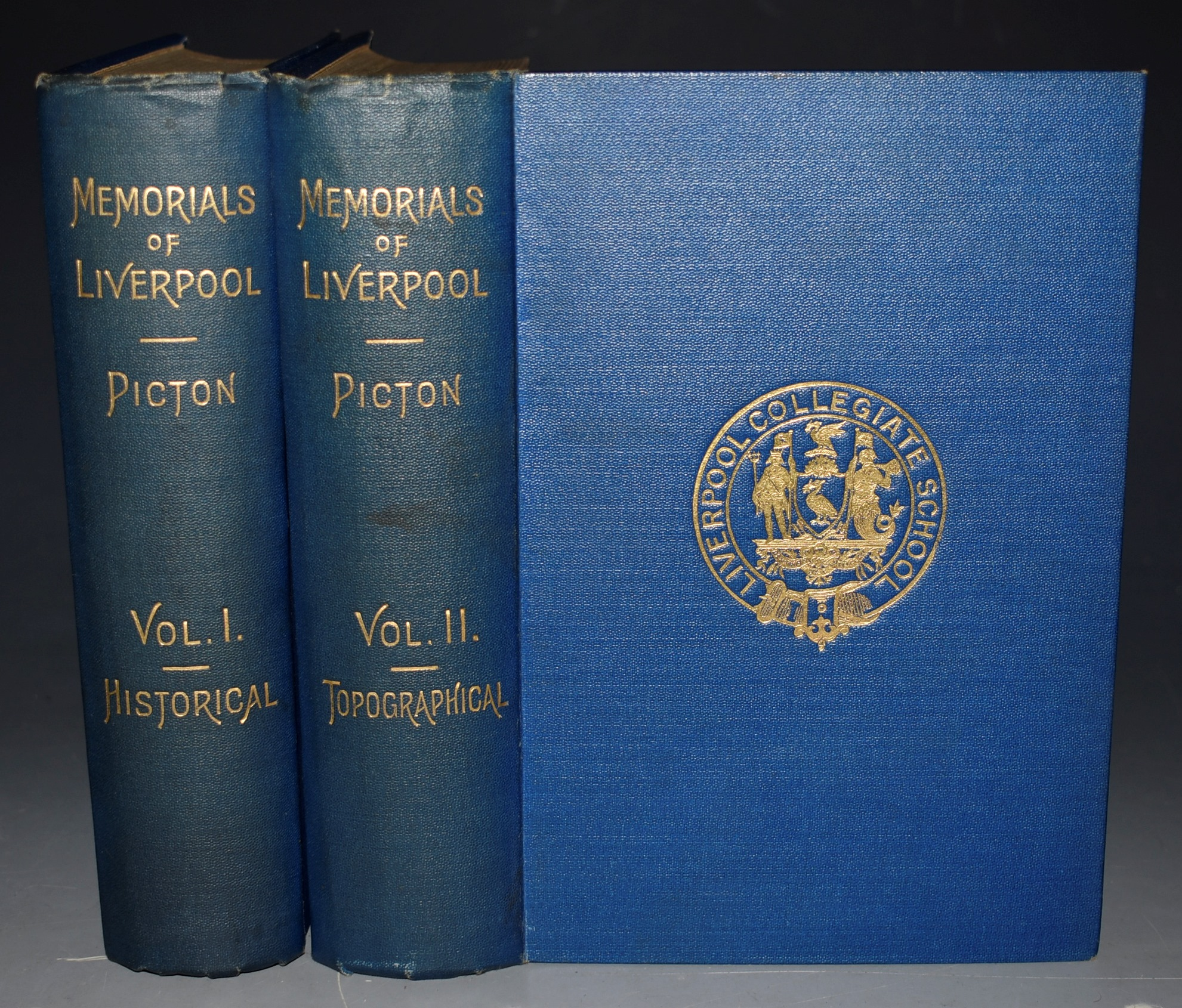 Image for Memoirials of Liverpool, Historical and Topographical. Including A History of The Dock Estate. Second Edition, Revised, With Additions. Continued to the End of The Reign of Queen Victoria. In Two Volumes.