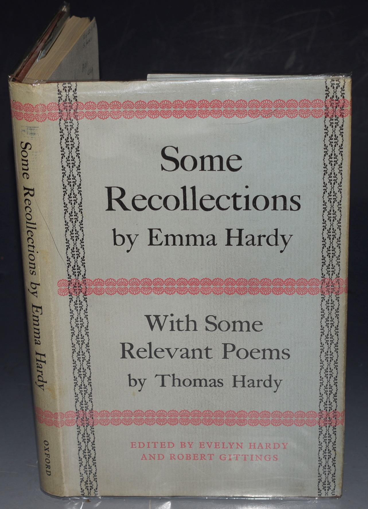 Image for Some Recollections. By Thomas Hardy's first wife. With notes by Evelyn Hardy. Together with Some Relevant Poems by Thomas Hardy. With Notes by R.Gittings.