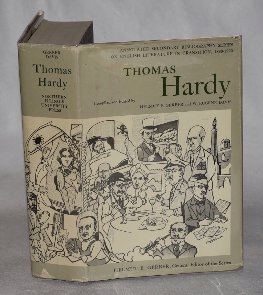Image for Thomas Hardy. An Annotated Bibliography of Writings about him.