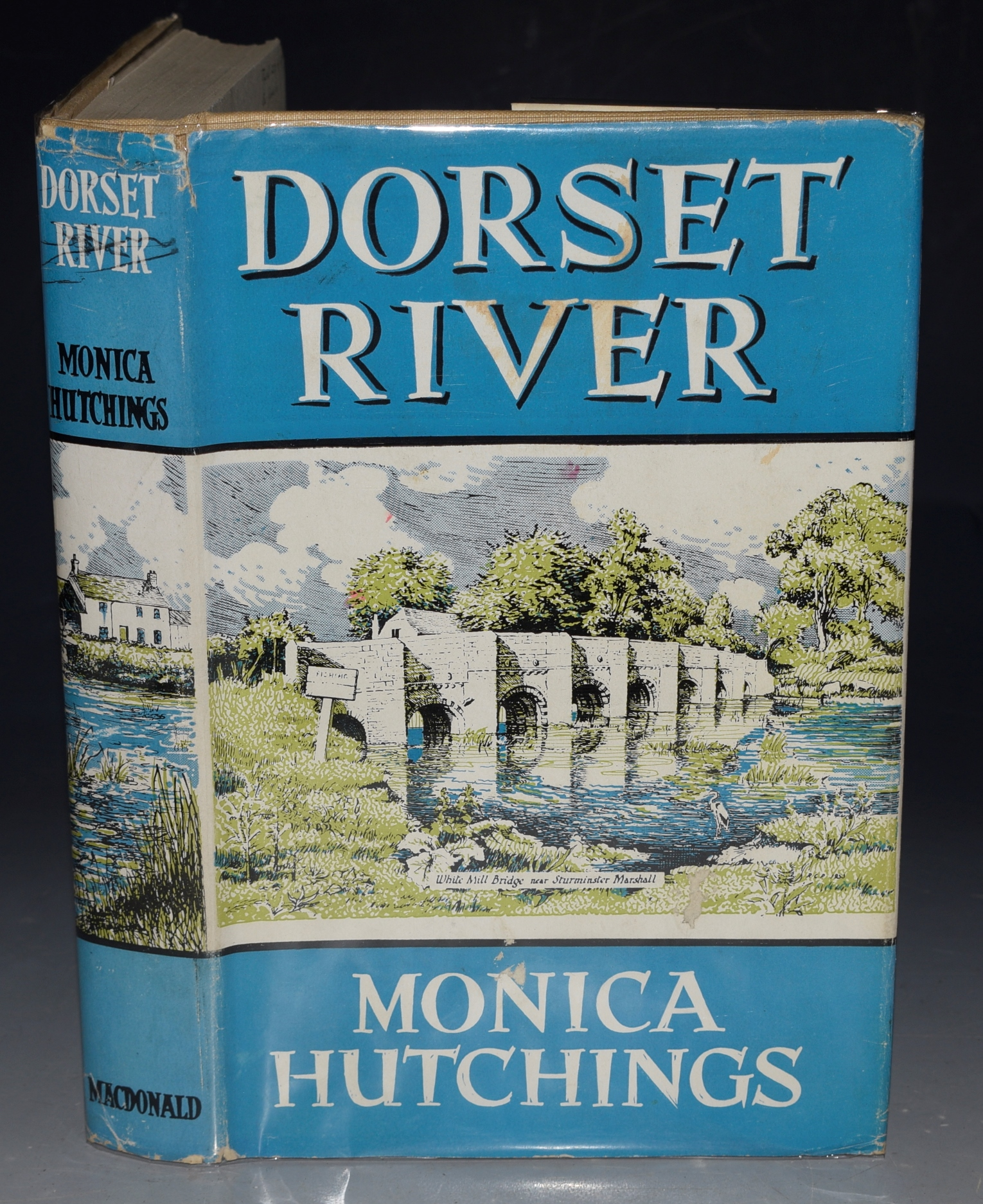 Image for DORSET RIVER. A Journey up the Valley of the Stour.  Illustrated with the Author's own photographs. Signed.